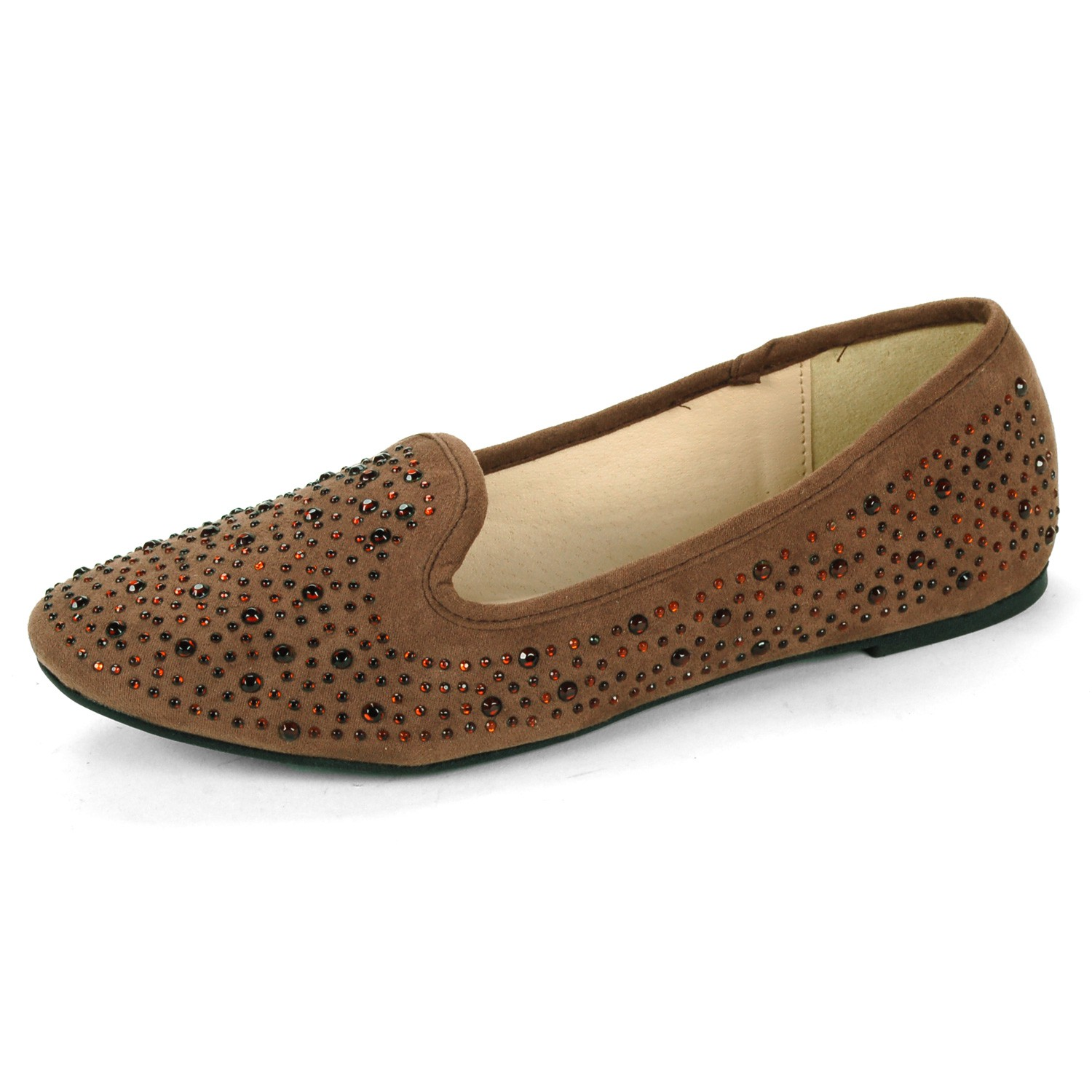 Womens Velvet Slip On Shoes