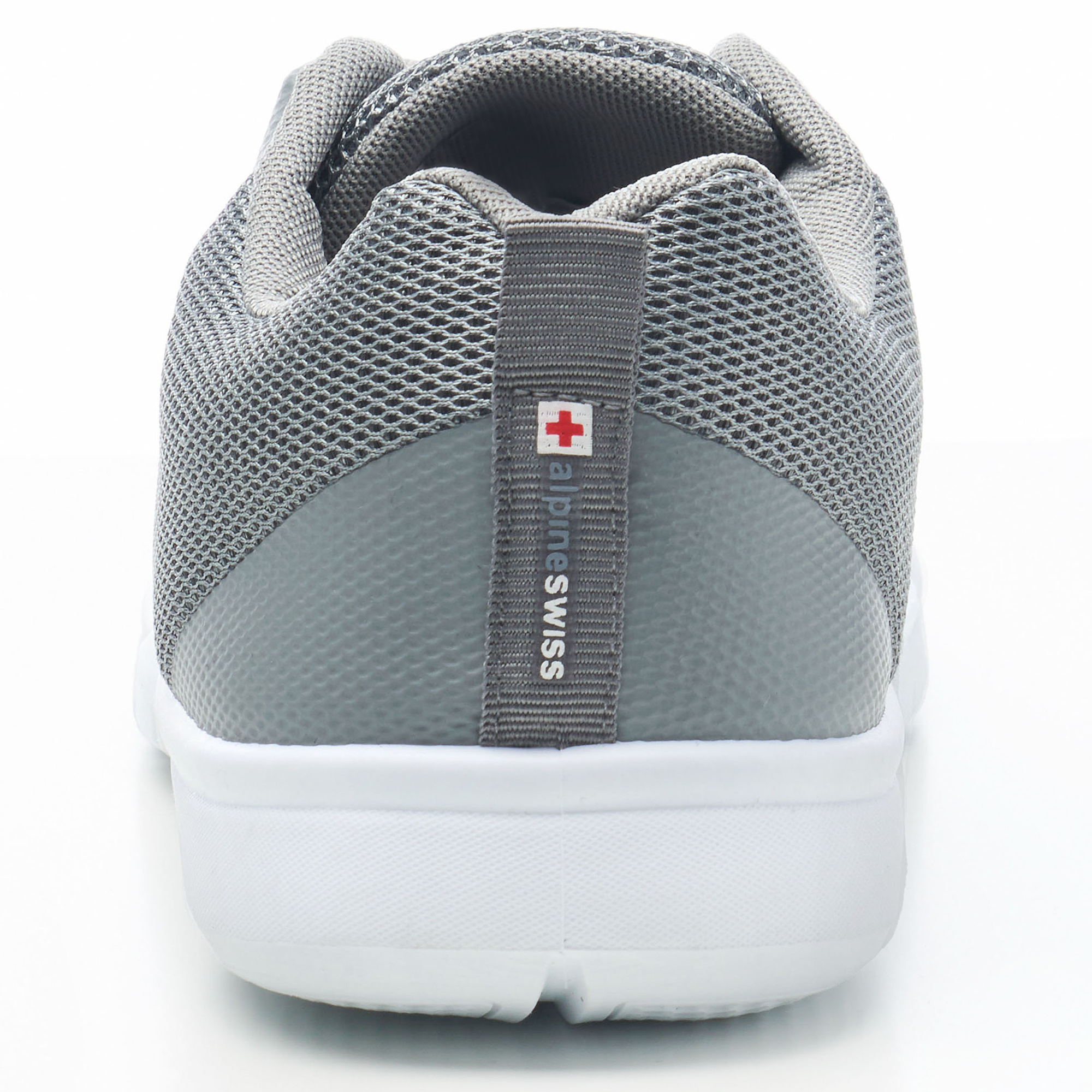 thumbnail 23 - Alpine Swiss Bolt Mesh Sneaker Casual Light Shoes For Men With Shoe Bag