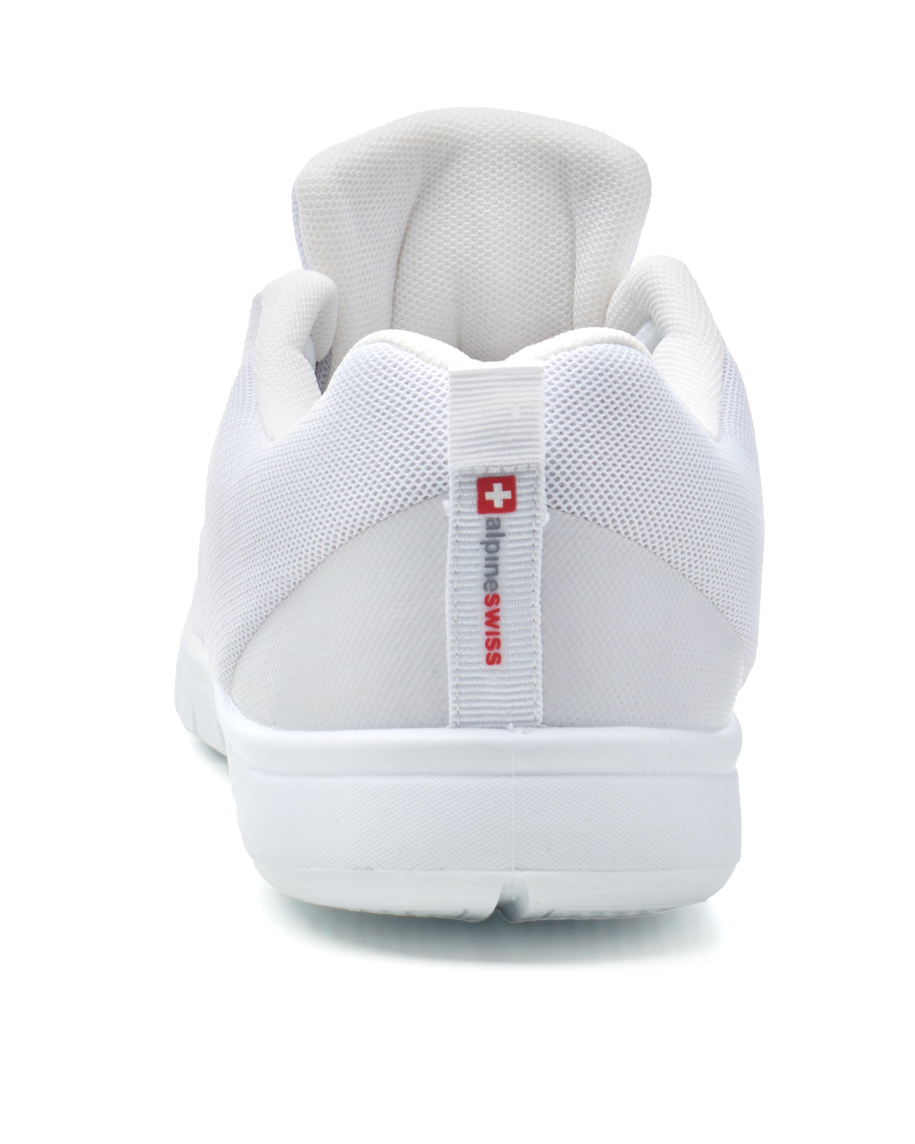 thumbnail 40 - Alpine Swiss Bolt Mesh Sneaker Casual Light Shoes For Men With Shoe Bag