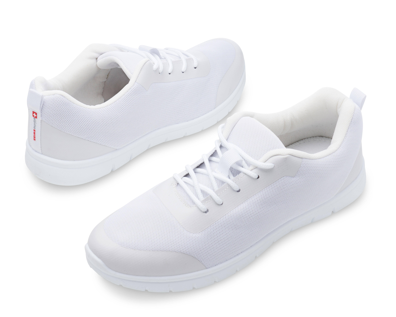 thumbnail 45 - Alpine Swiss Bolt Mesh Sneaker Casual Light Shoes For Men With Shoe Bag