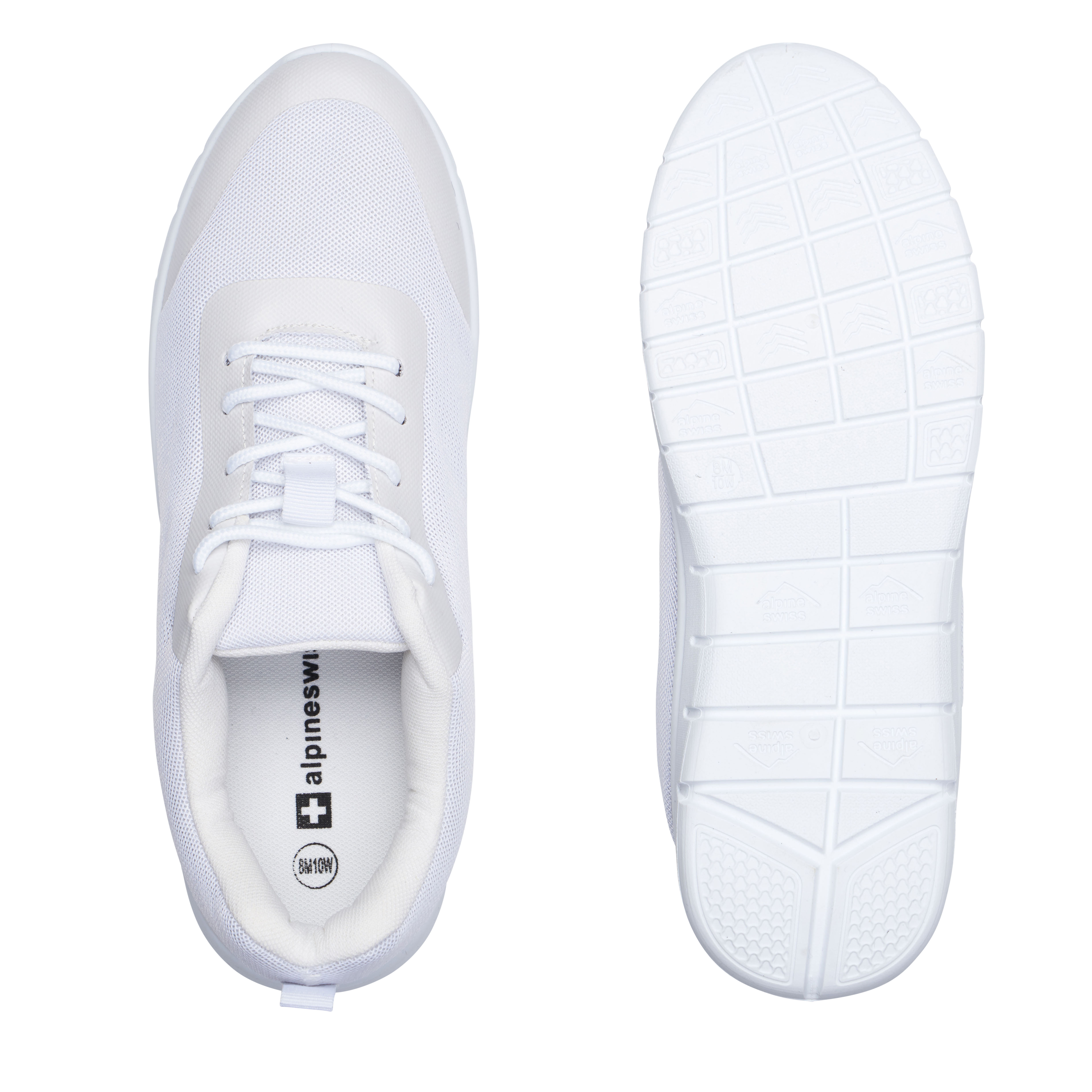 thumbnail 44 - Alpine Swiss Bolt Mesh Sneaker Casual Light Shoes For Men With Shoe Bag