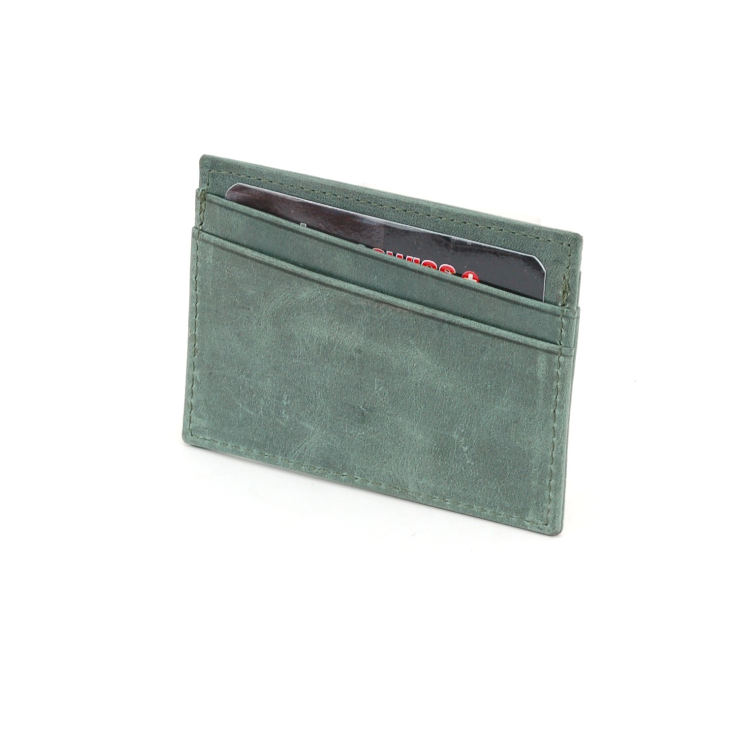 Alpine-Swiss-Super-Slim-Card-Case-Genuine-Leather-ID-Holder-Front-Pocket-Wallet thumbnail 48