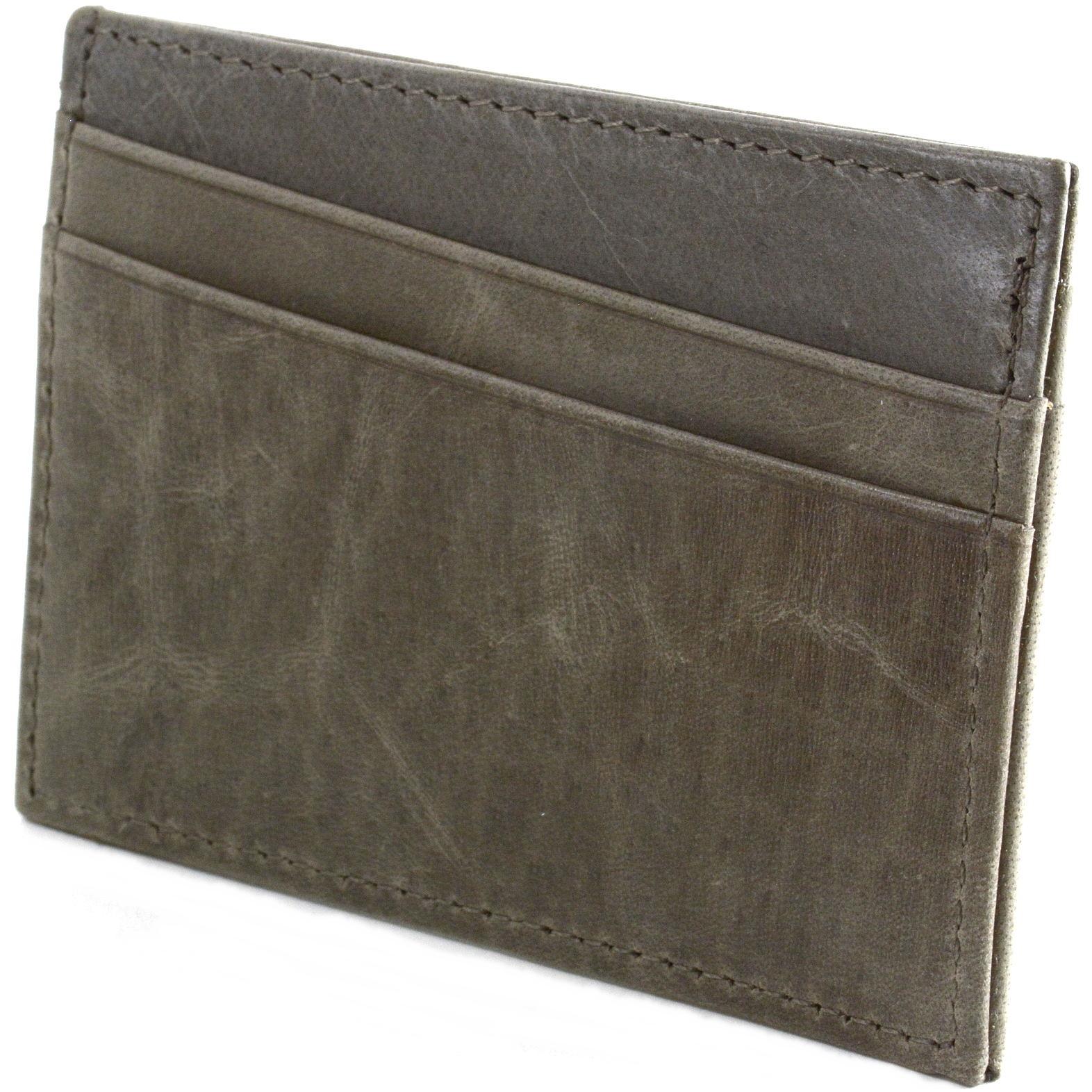 Alpine-Swiss-Minimalist-Leather-Front-Pocket-Wallet-5-Card-Slots-Slim-Thin-Case thumbnail 57