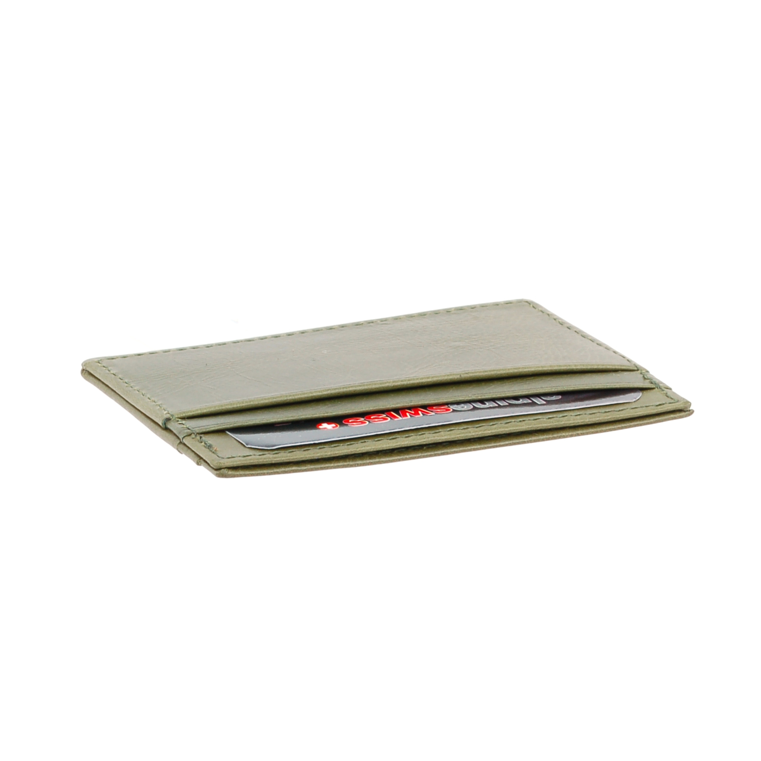 Alpine-Swiss-Super-Slim-Card-Case-Genuine-Leather-ID-Holder-Front-Pocket-Wallet thumbnail 55