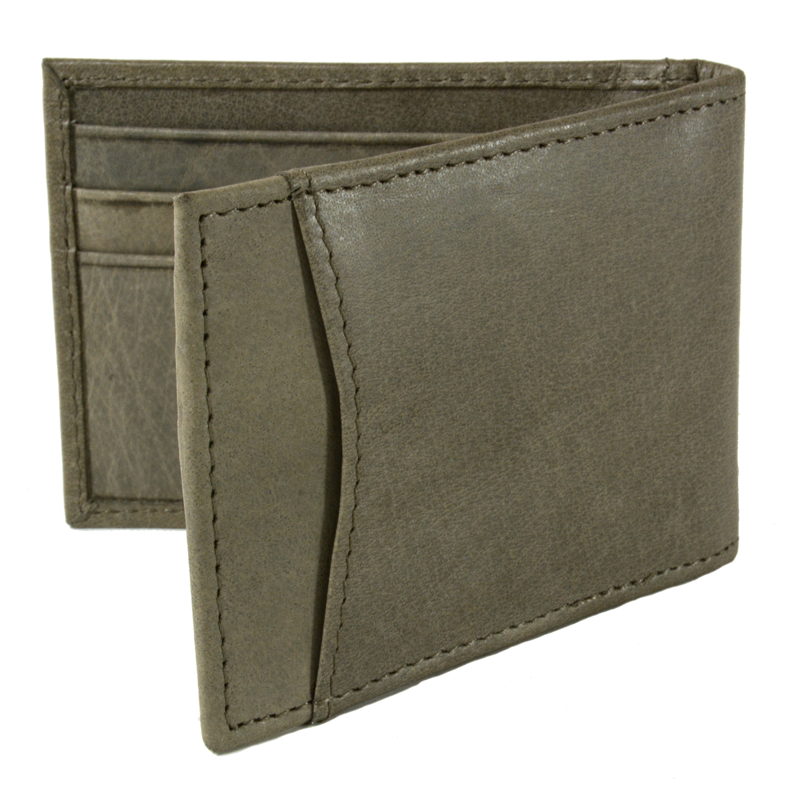 Alpine-Swiss-Mens-Bifold-Money-Clip-Spring-Loaded-Leather-ID-Front-Pocket-Wallet thumbnail 81