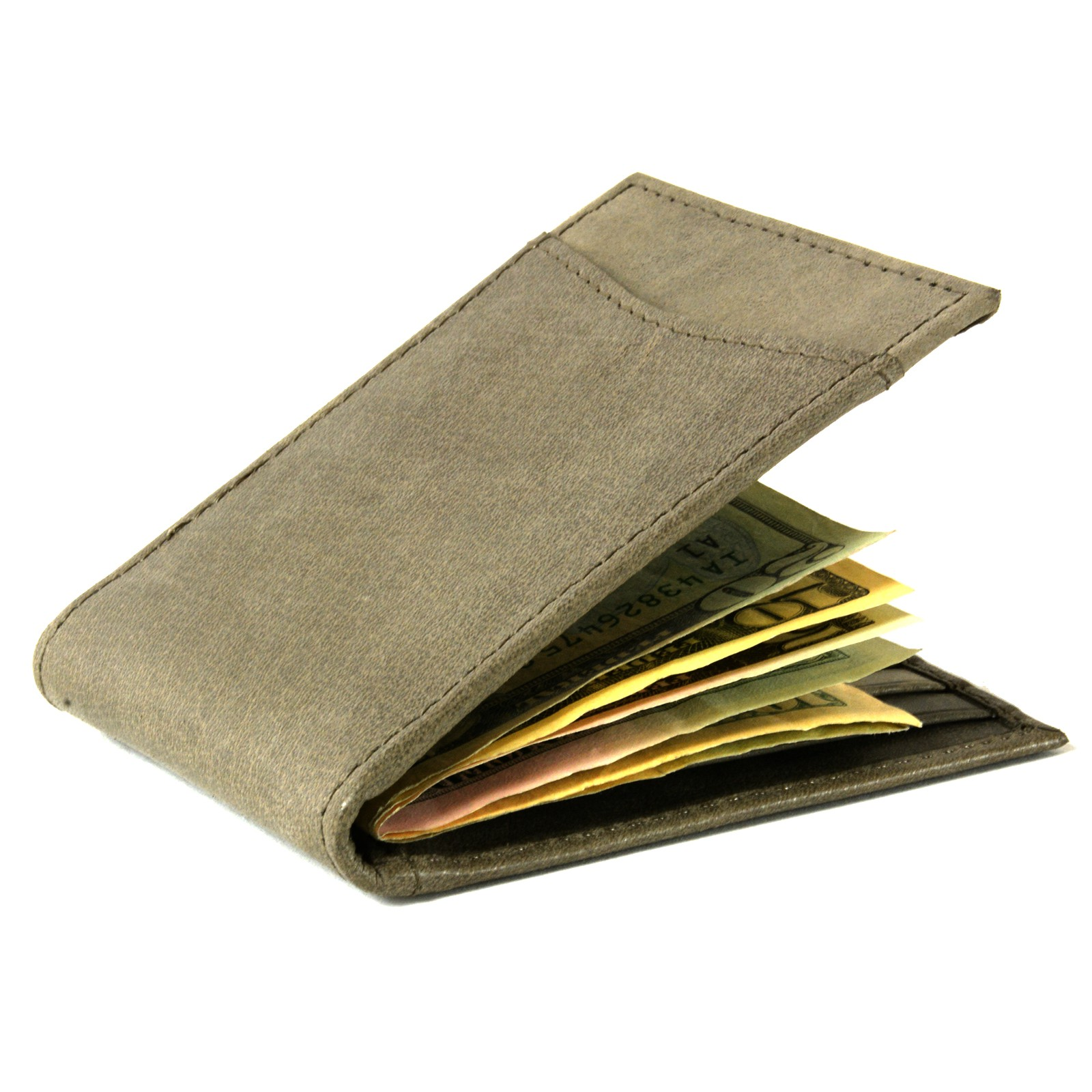 Alpine-Swiss-Mens-Bifold-Money-Clip-Spring-Loaded-Leather-ID-Front-Pocket-Wallet thumbnail 79