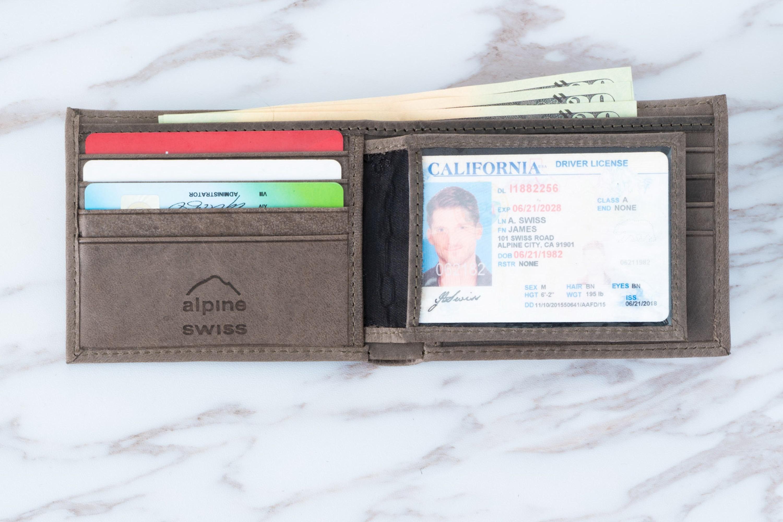 Alpine-Swiss-Mens-RFID-Blocking-Leather-Wallet-Multi-Card-High-Capacity-Bifold thumbnail 40