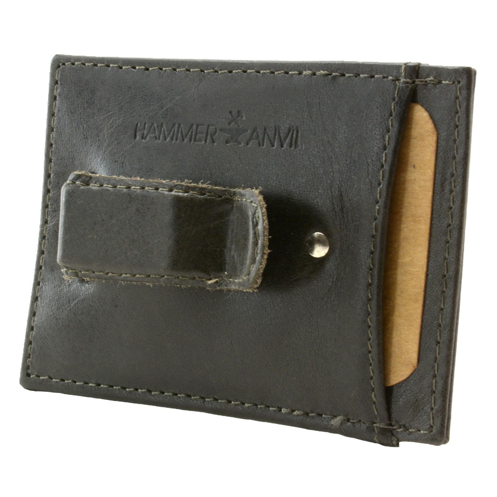 Minimalist Rfid Safe Hammer Anvil Front Pocket Wallet
