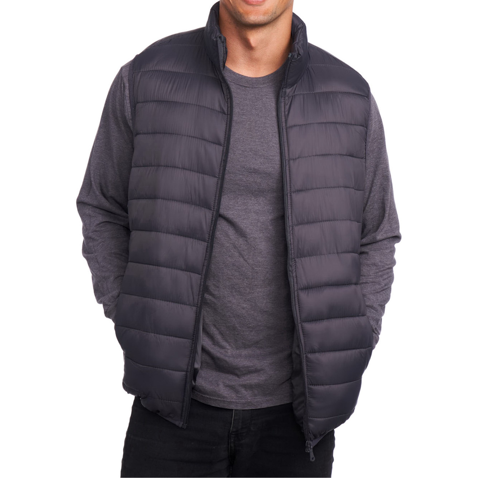 Alpine-Swiss-Mens-Down-Alternative-Vest-Jacket-Lightweight-Packable-Puffer-Vest
