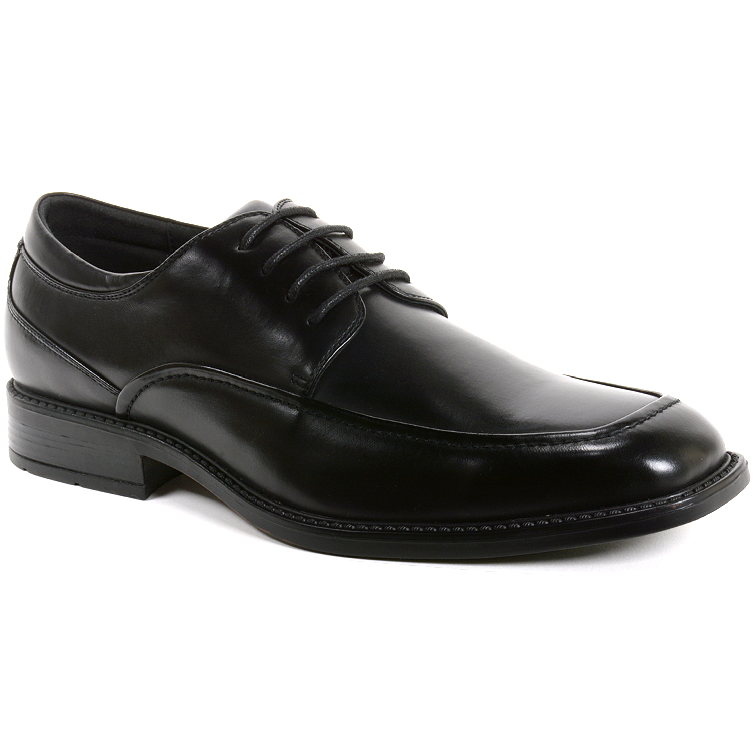 deals cheap price good selling online Fuel Office Artificial Leather Black Formal Shoes vbLam
