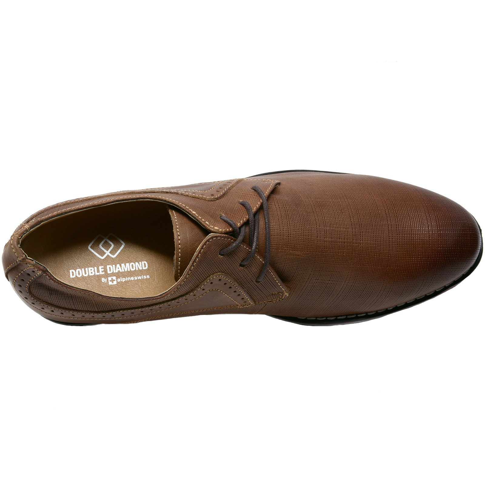 Double-Diamond-by-Alpine-Swiss-Mens-Saffiano-Leather-Lace-Up-Oxford-Dress-Shoes thumbnail 24