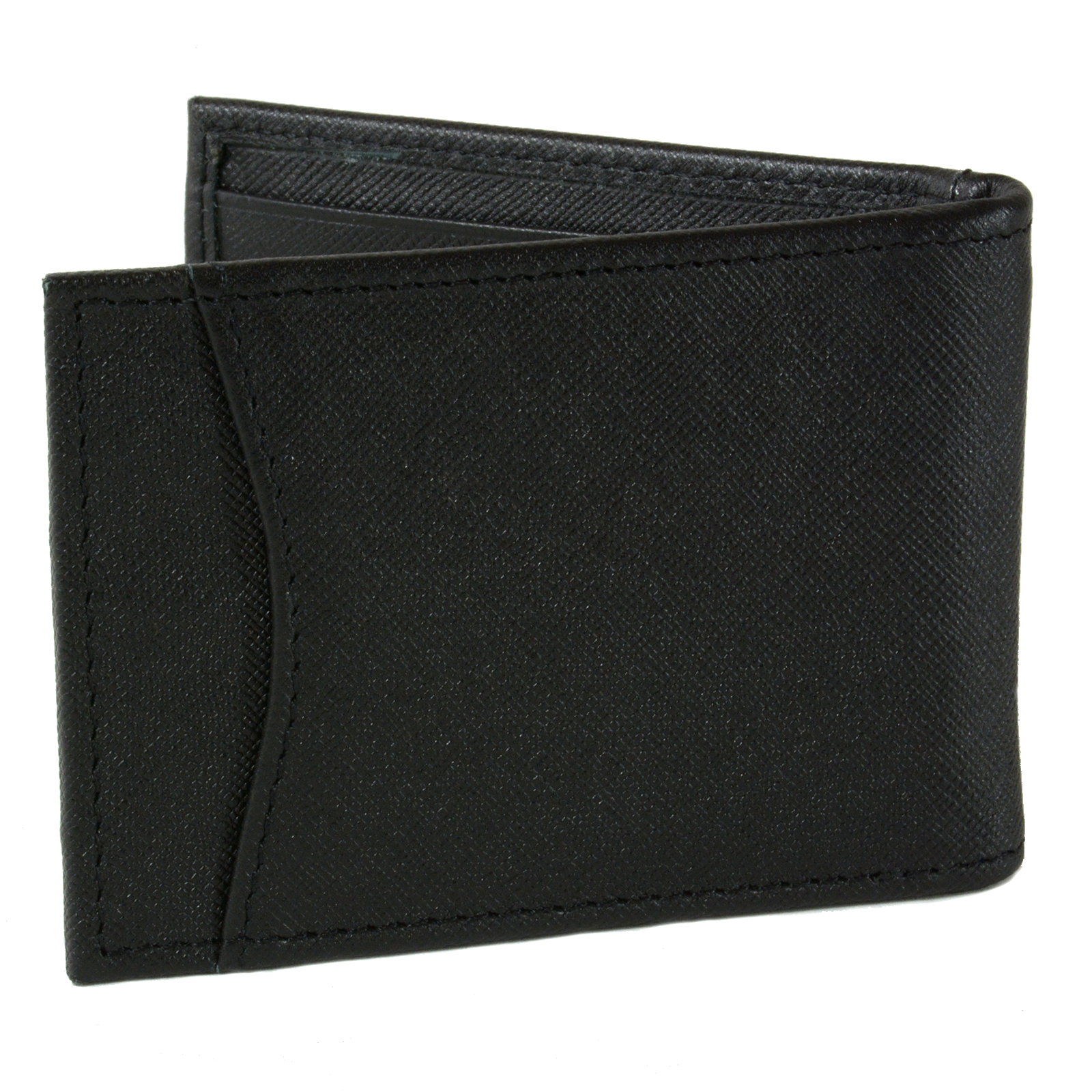Alpine-Swiss-Mens-Bifold-Money-Clip-Spring-Loaded-Leather-ID-Front-Pocket-Wallet thumbnail 36