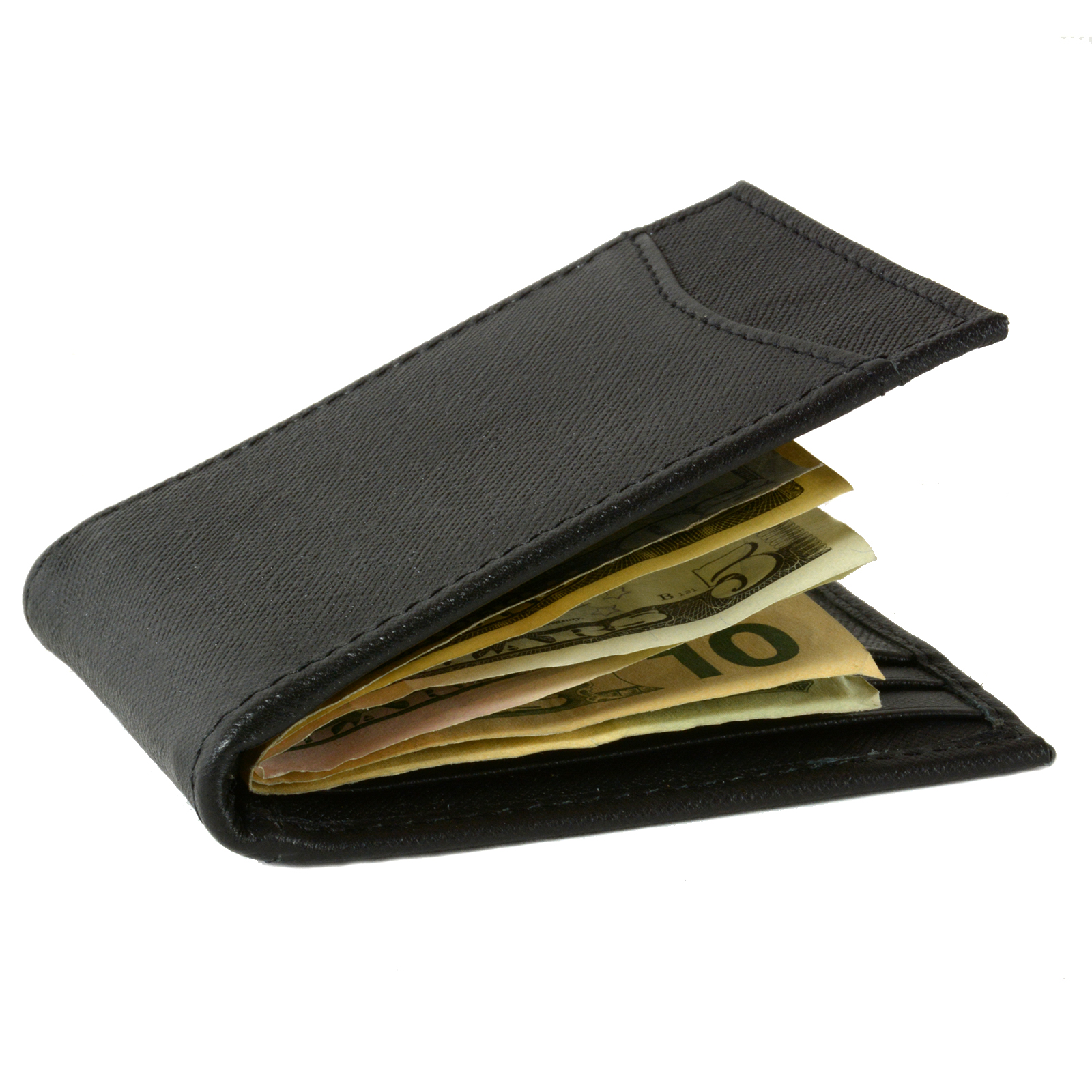Alpine-Swiss-Mens-Bifold-Money-Clip-Spring-Loaded-Leather-ID-Front-Pocket-Wallet thumbnail 42