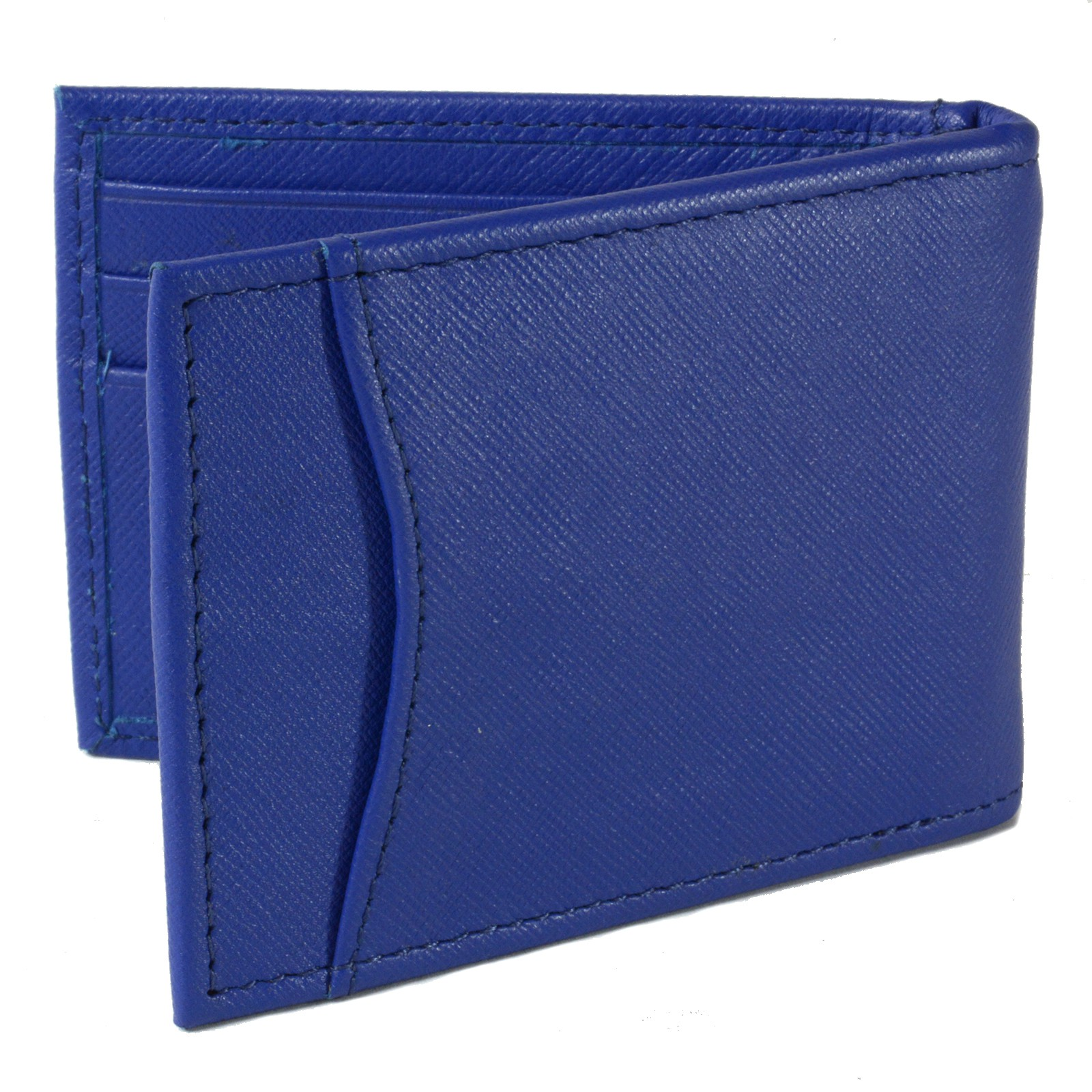 Alpine-Swiss-Mens-Bifold-Money-Clip-Spring-Loaded-Leather-ID-Front-Pocket-Wallet thumbnail 47
