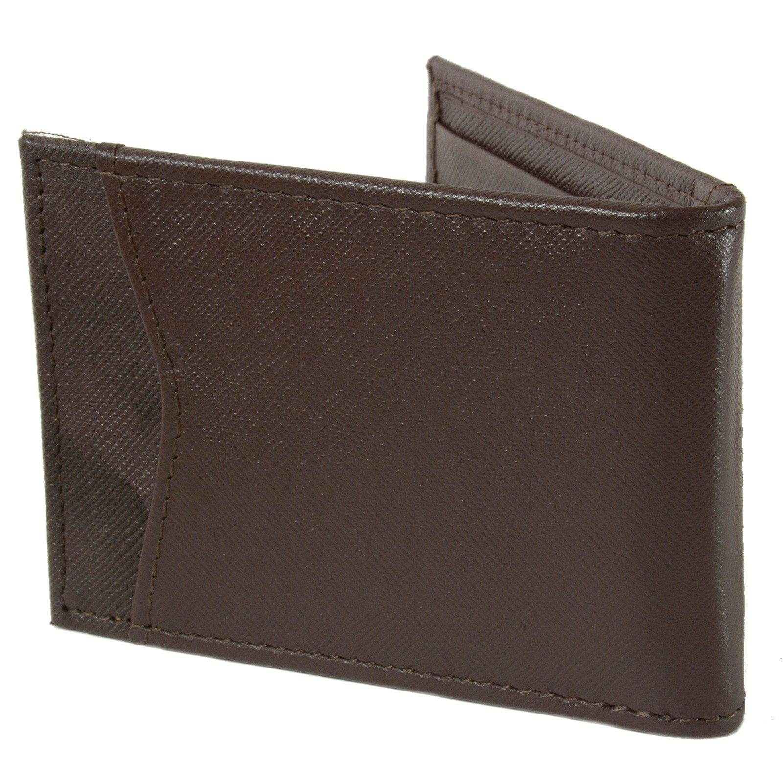 Alpine-Swiss-Mens-Bifold-Money-Clip-Spring-Loaded-Leather-ID-Front-Pocket-Wallet thumbnail 57