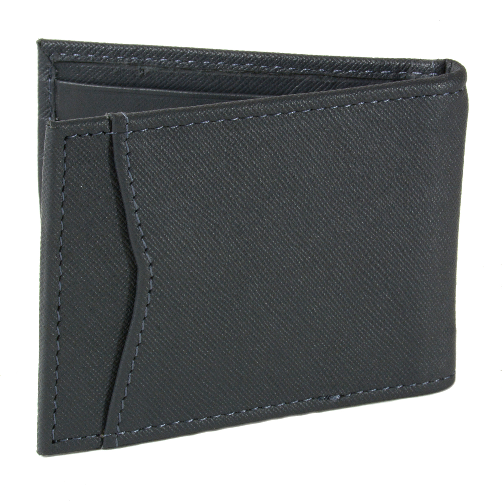 Alpine-Swiss-Mens-Bifold-Money-Clip-Spring-Loaded-Leather-ID-Front-Pocket-Wallet thumbnail 66