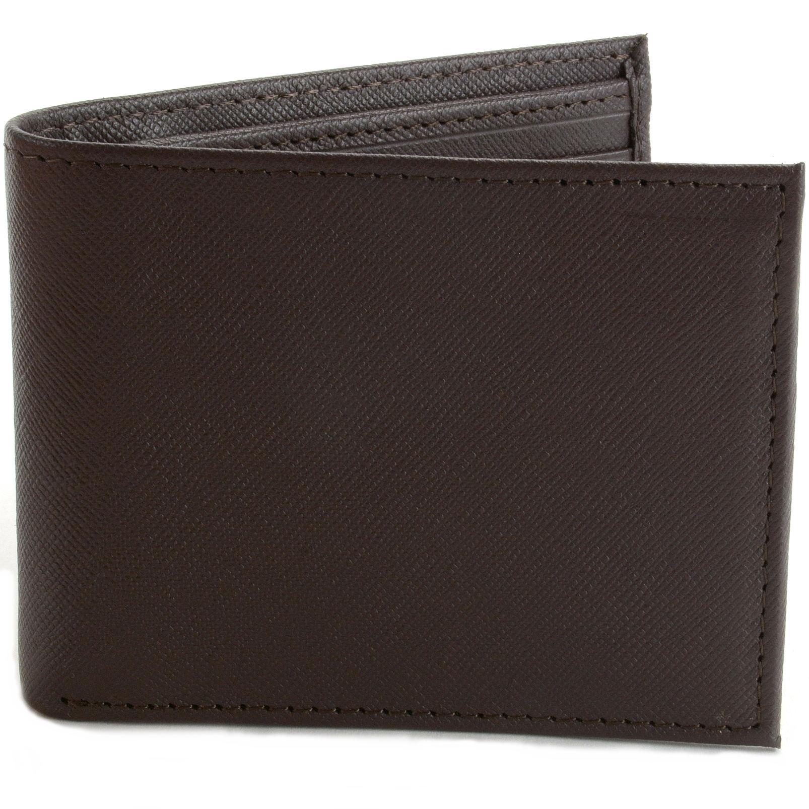 Mens Leather Wallet RFID Blocking Compact Multi Card Flip ID Bifold Hammer Anvil | eBay