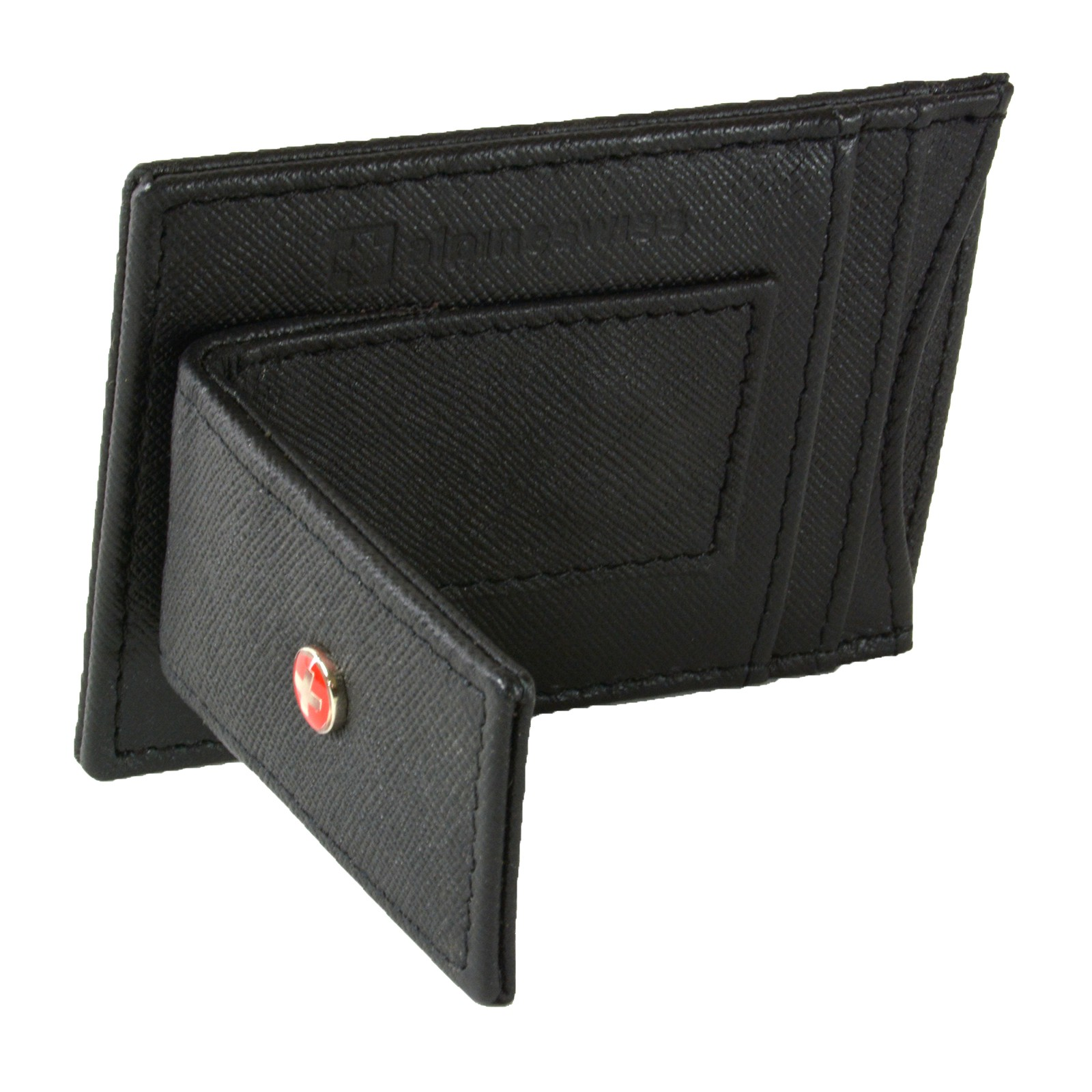 AlpineSwiss-Mens-Leather-Money-Clip-Magnet-Front-Pocket-Wallet-Slim-ID-Card-Case thumbnail 46