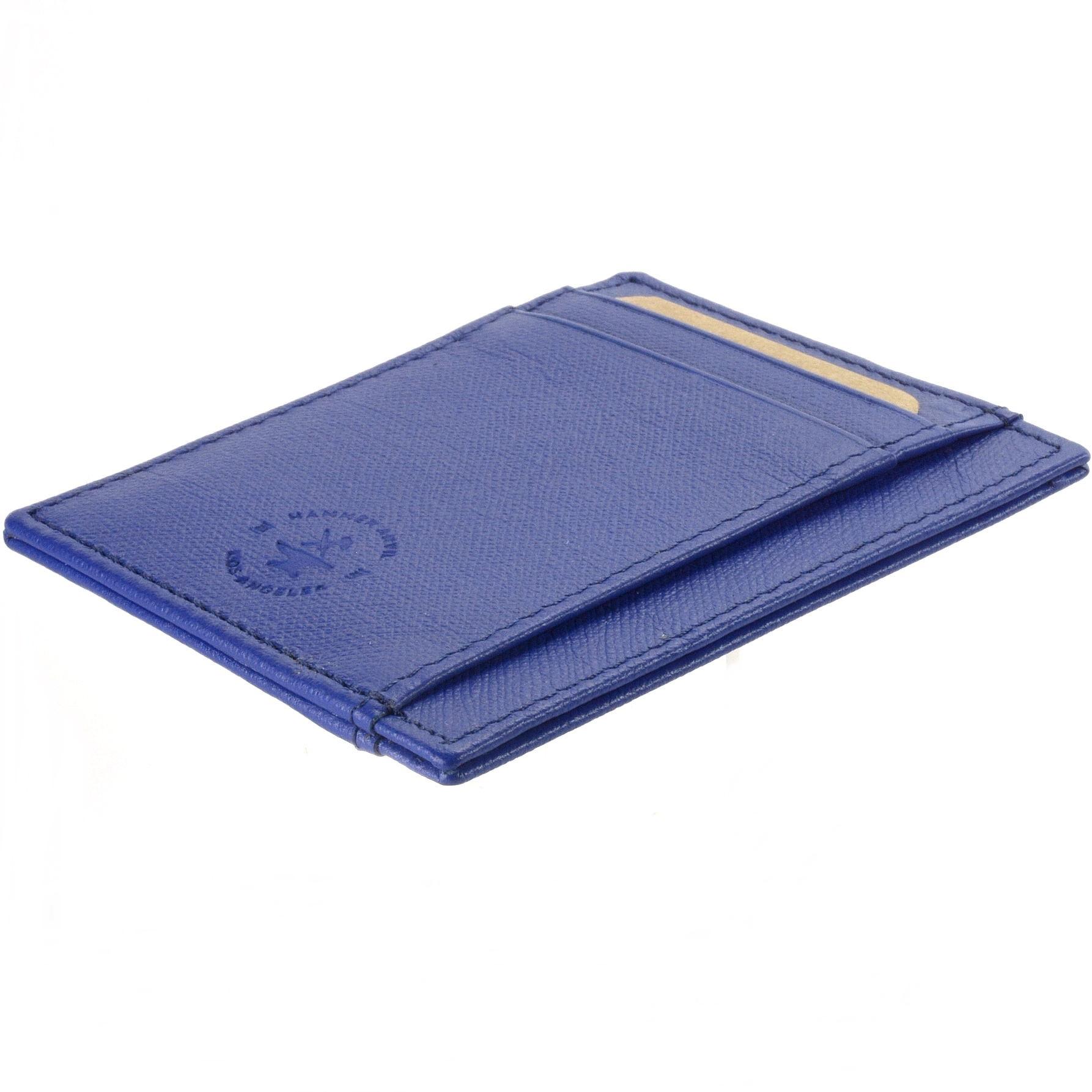 miniature 40 - Hammer-Anvil-Minimalist-Front-Pocket-Wallet-RFID-Blocking-Thin-Leather-Card-Case