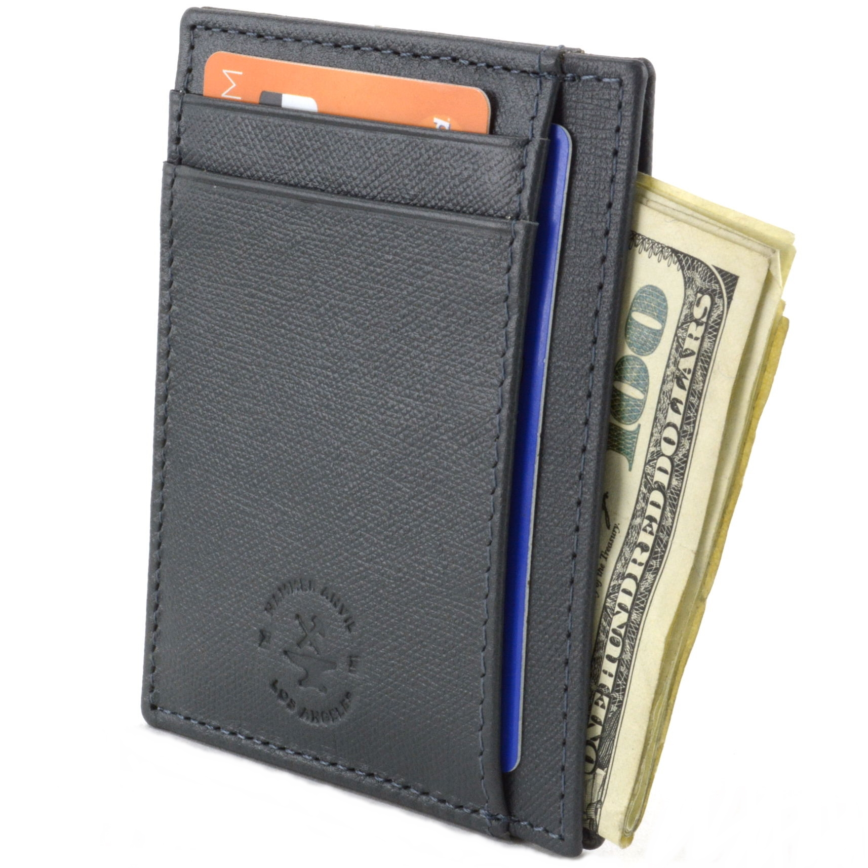 Hammer Anvil Minimalist Front Pocket Wallet RFID Blocking ...