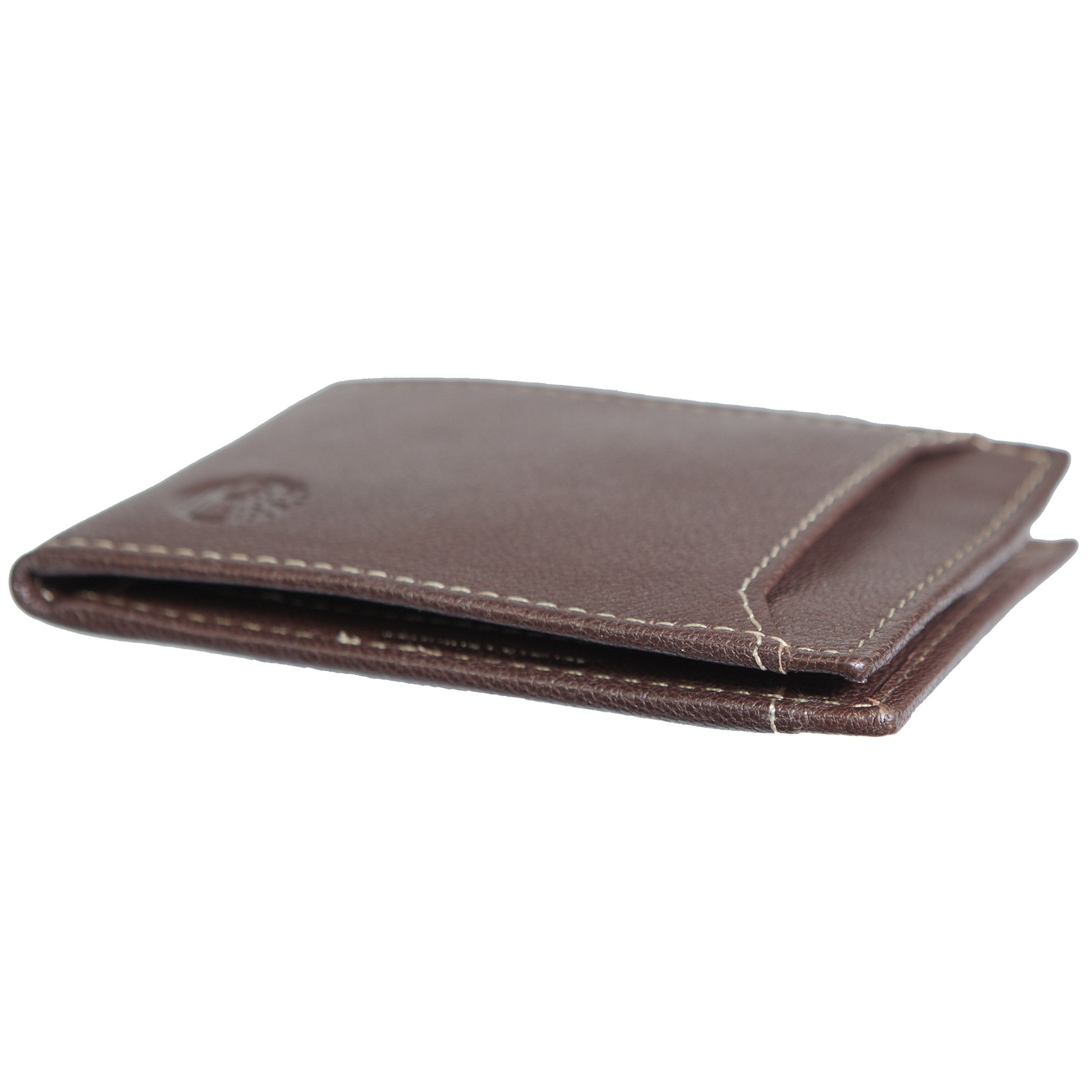 Timberland Mens Flip Money Clip Leather Bifold ID Card Case Holder Pocket Wallet