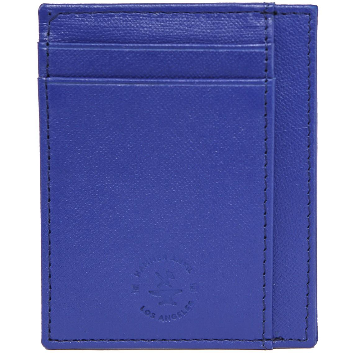 miniature 41 - Hammer-Anvil-Minimalist-Front-Pocket-Wallet-RFID-Blocking-Thin-Leather-Card-Case