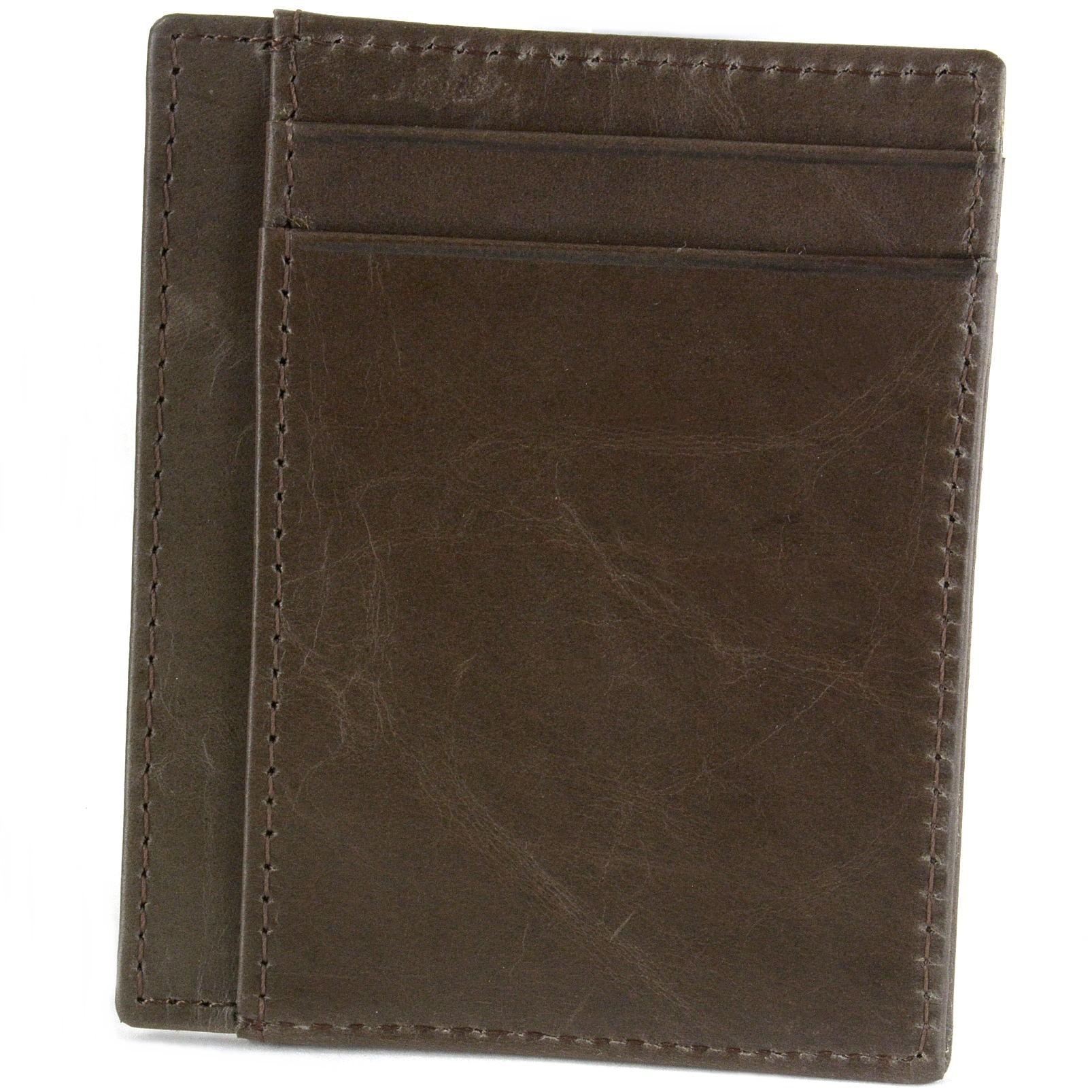 miniature 25 - Hammer-Anvil-Minimalist-Front-Pocket-Wallet-RFID-Blocking-Thin-Leather-Card-Case