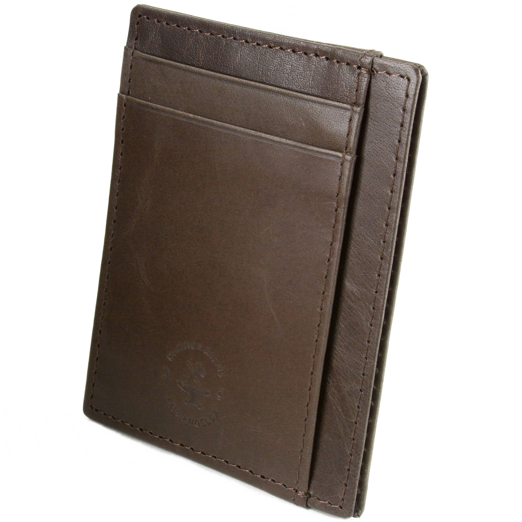 miniature 28 - Hammer-Anvil-Minimalist-Front-Pocket-Wallet-RFID-Blocking-Thin-Leather-Card-Case