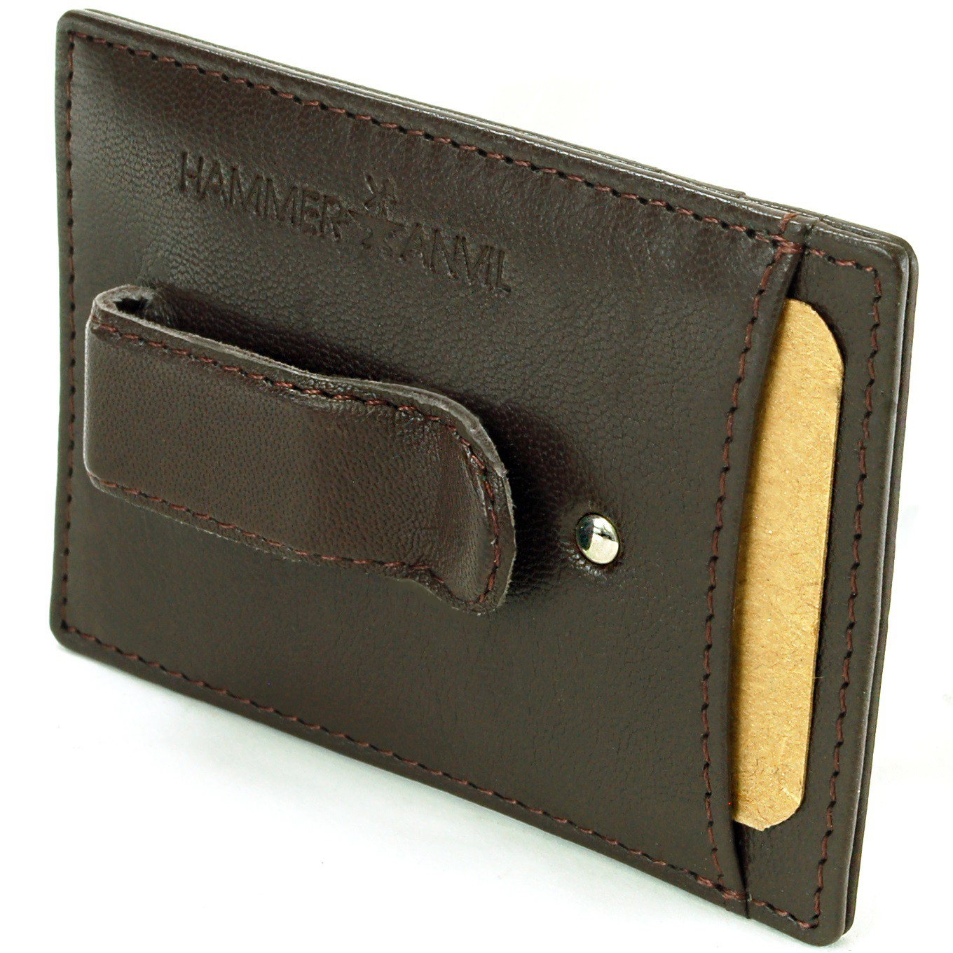Minimalist Rfid Safe Hammer Anvil Front Pocket Wallet