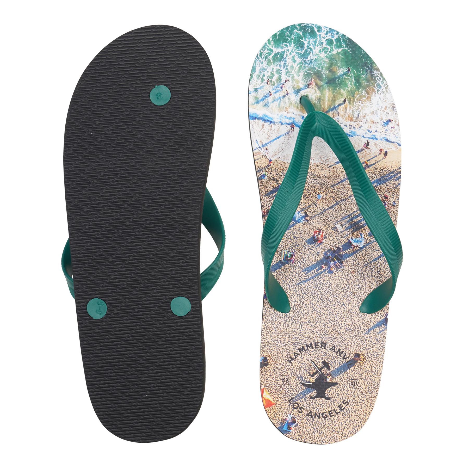 Hammer-Anvil-Mens-Flip-Flops-Casual-Thong-Summer-Sandals-Comfortable-Beach-Shoes thumbnail 14