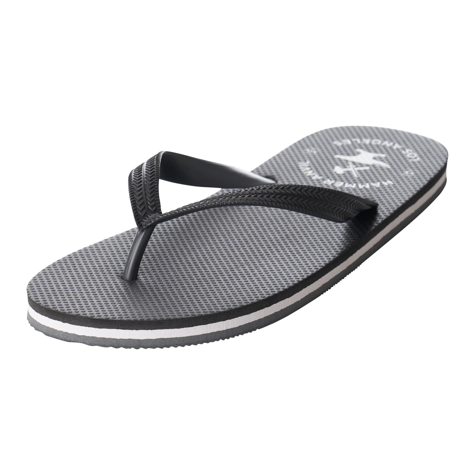 Hammer-Anvil-Mens-Flip-Flops-Casual-Thong-Summer-Sandals-Comfortable-Beach-Shoes thumbnail 16