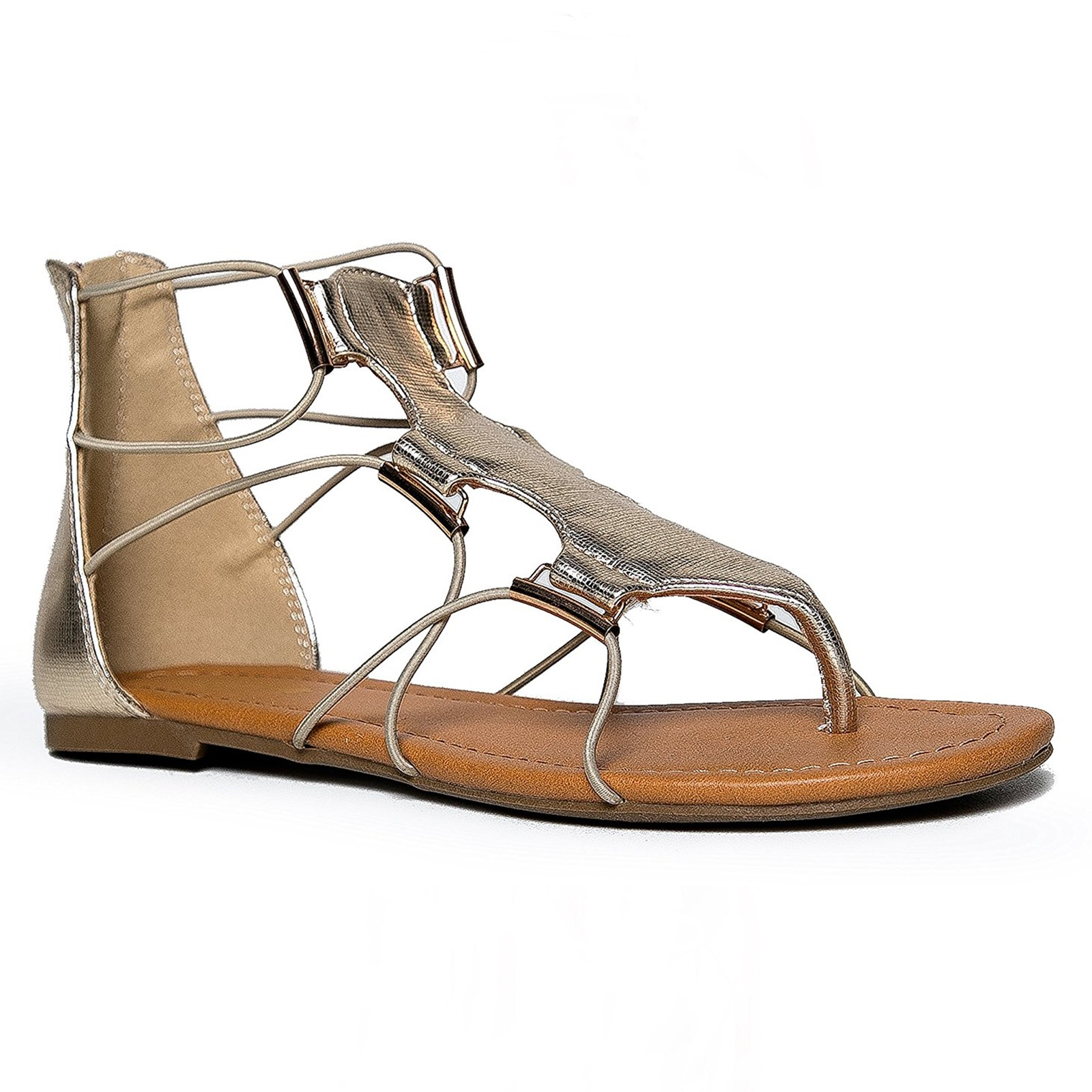 Soda-Impact-Women-039-s-Elastic-Strappy-Ankle-