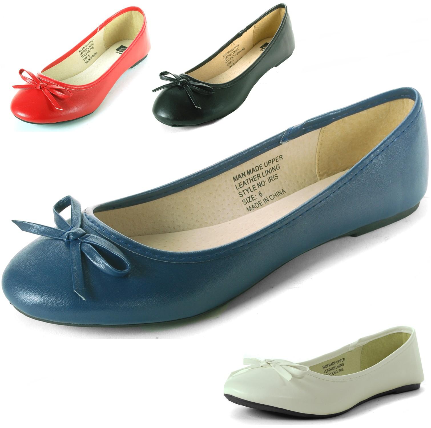 Alpine-Swiss-Iris-Womens-Ballet-Flats-Suede-Lined-Classic-Bow-Ballerina-Slippers thumbnail 15