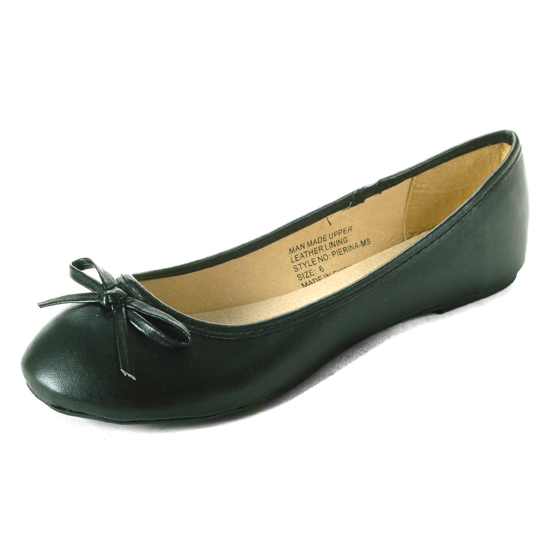 Alpine-Swiss-Iris-Womens-Ballet-Flats-Suede-Lined-Classic-Bow-Ballerina-Slippers thumbnail 13