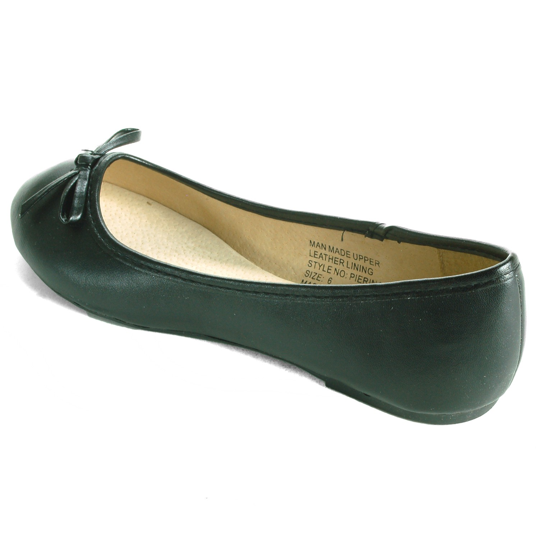 Alpine-Swiss-Iris-Womens-Ballet-Flats-Suede-Lined-Classic-Bow-Ballerina-Slippers thumbnail 16
