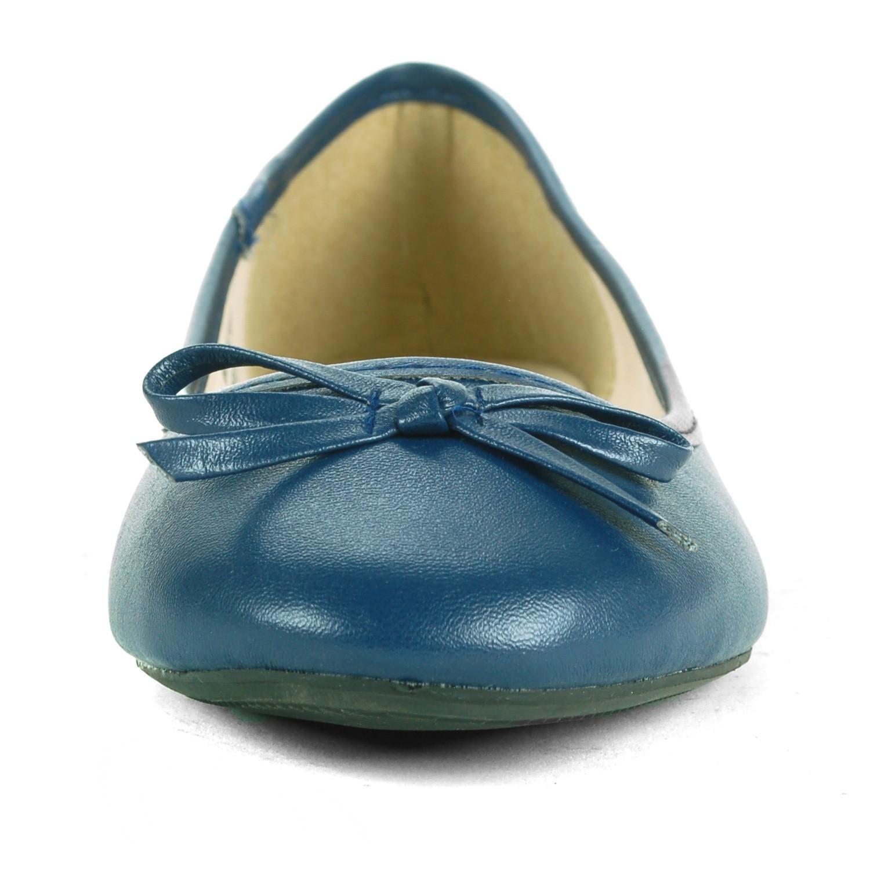 Alpine-Swiss-Iris-Womens-Ballet-Flats-Suede-Lined-Classic-Bow-Ballerina-Slippers thumbnail 21