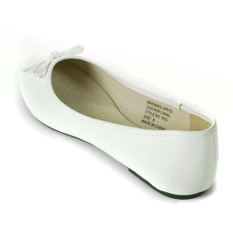 Alpine-Swiss-Iris-Womens-Ballet-Flats-Suede-Lined-Classic-Bow-Ballerina-Slippers thumbnail 36