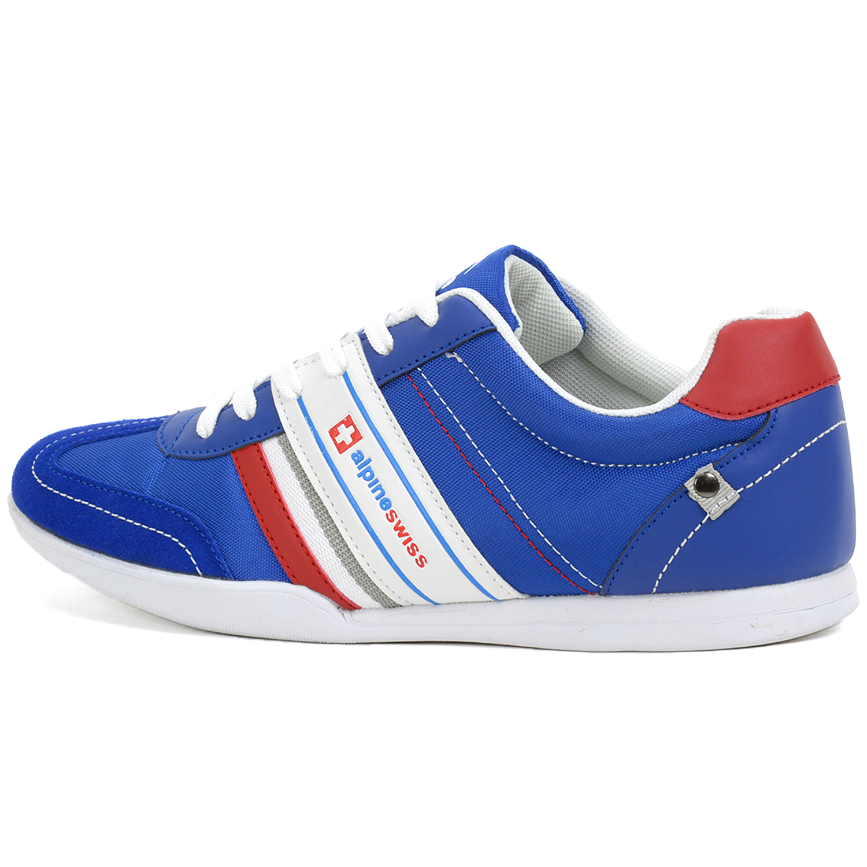 alpineswiss ivan mens tennis shoes fashion sneakers retro