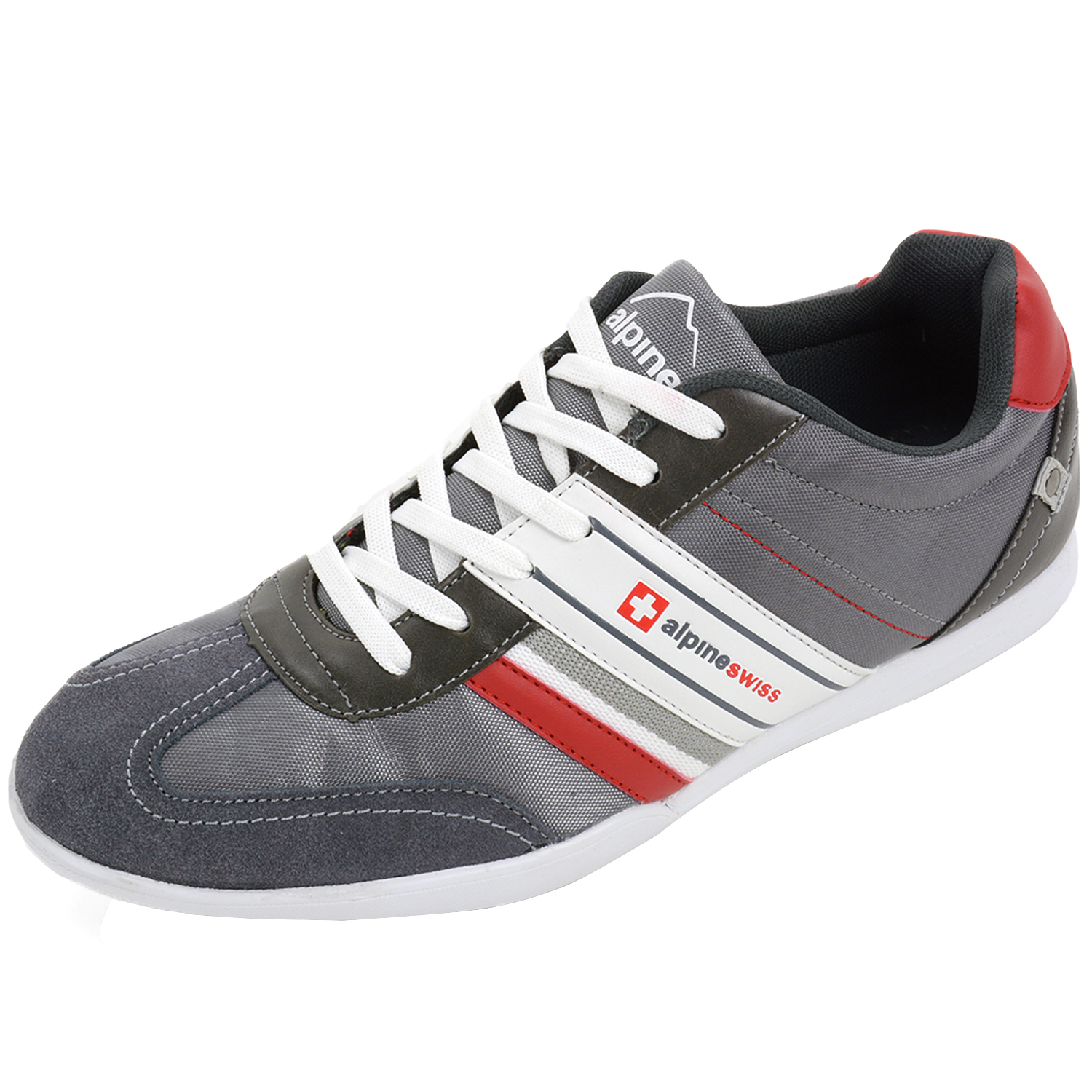 AlpineSwiss Ivan Mens Tennis Shoes Fashion Sneakers Retro ...