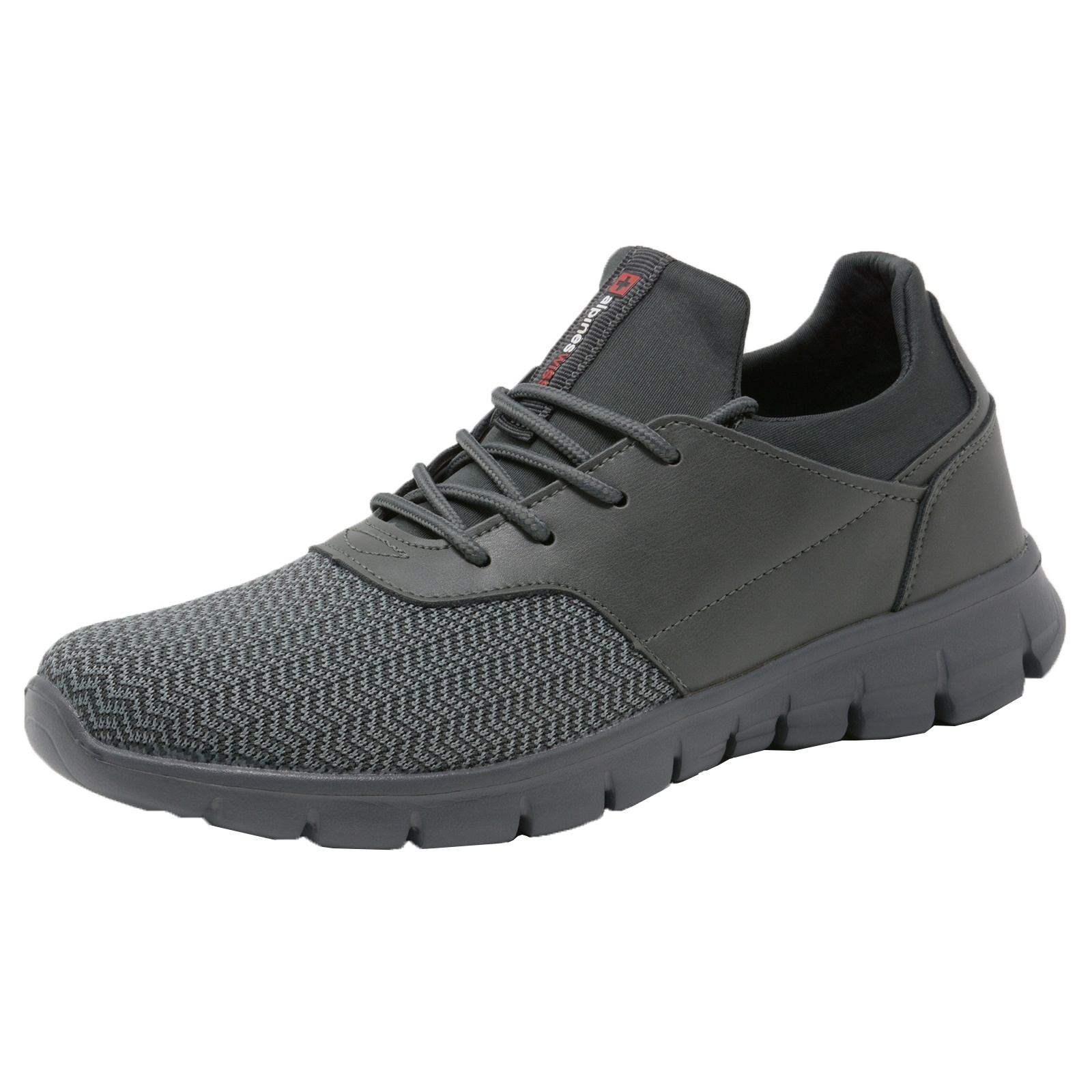 Alpine-Swiss-Leo-Men-Sneakers-Flex-Knit-Tennis-Shoes-Casual-Athletic-Lightweight thumbnail 20