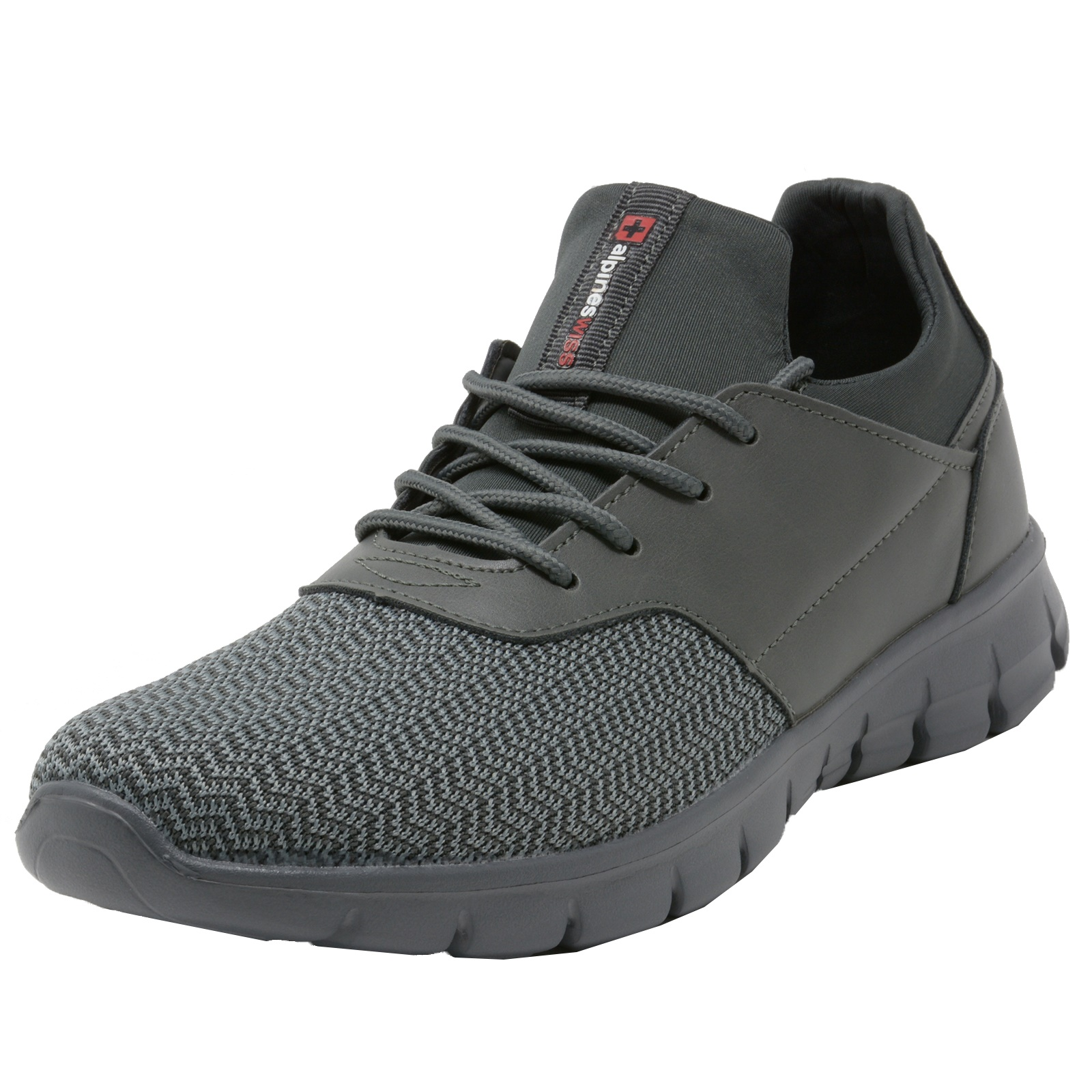 Alpine-Swiss-Leo-Men-Sneakers-Flex-Knit-Tennis-Shoes-Casual-Athletic-Lightweight thumbnail 25