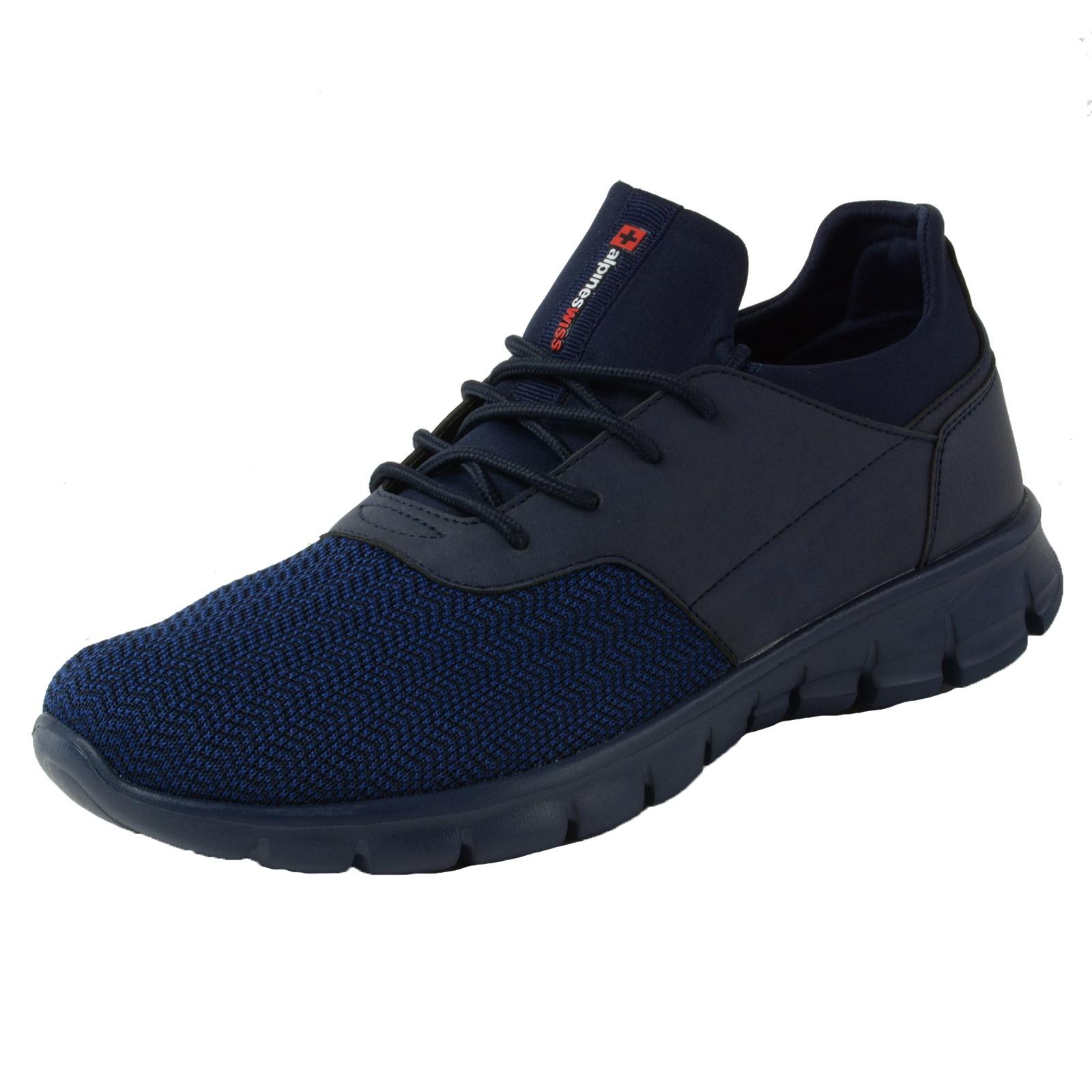 Alpine-Swiss-Leo-Men-Sneakers-Flex-Knit-Tennis-Shoes-Casual-Athletic-Lightweight