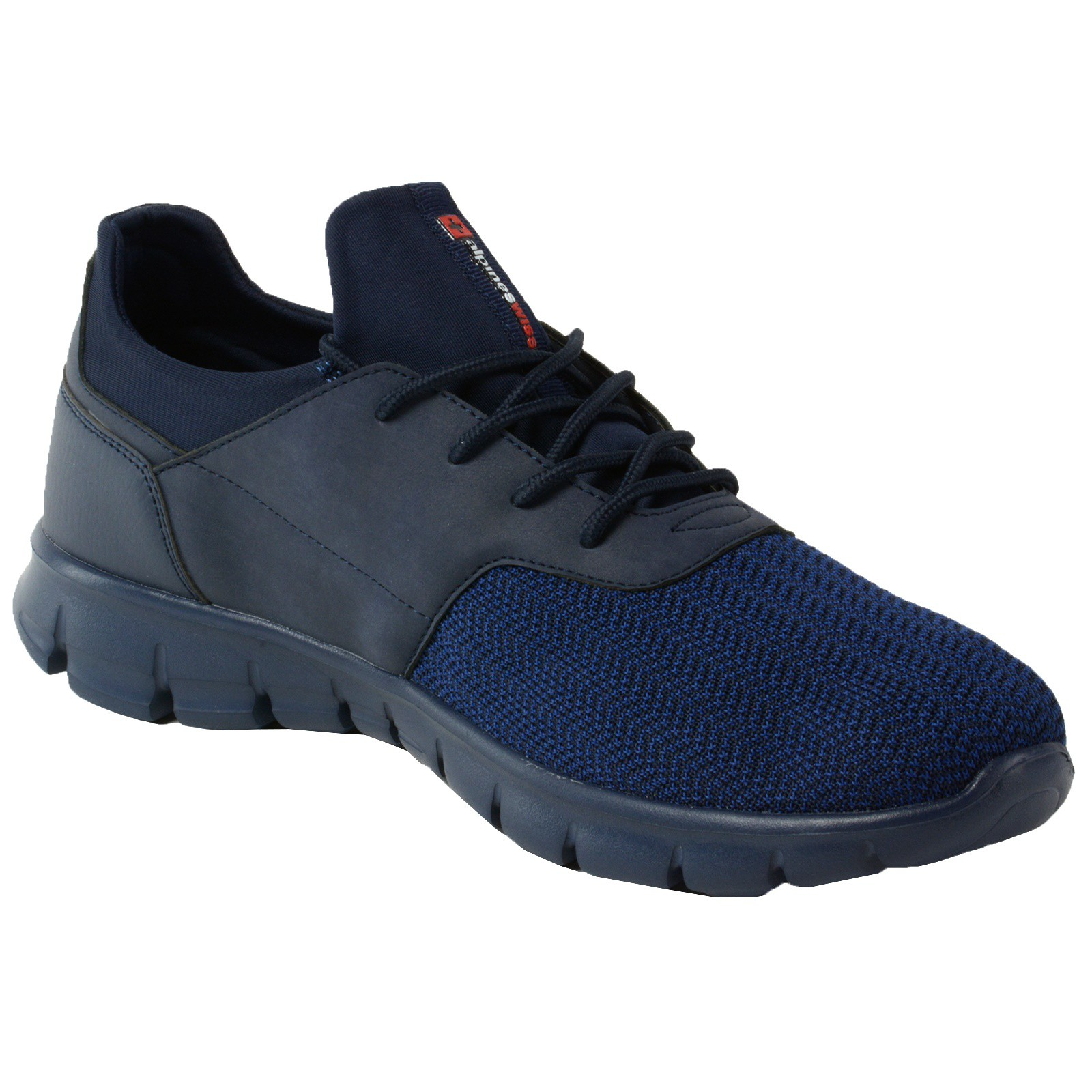 Alpine-Swiss-Leo-Men-Sneakers-Flex-Knit-Tennis-Shoes-Casual-Athletic-Lightweight thumbnail 28