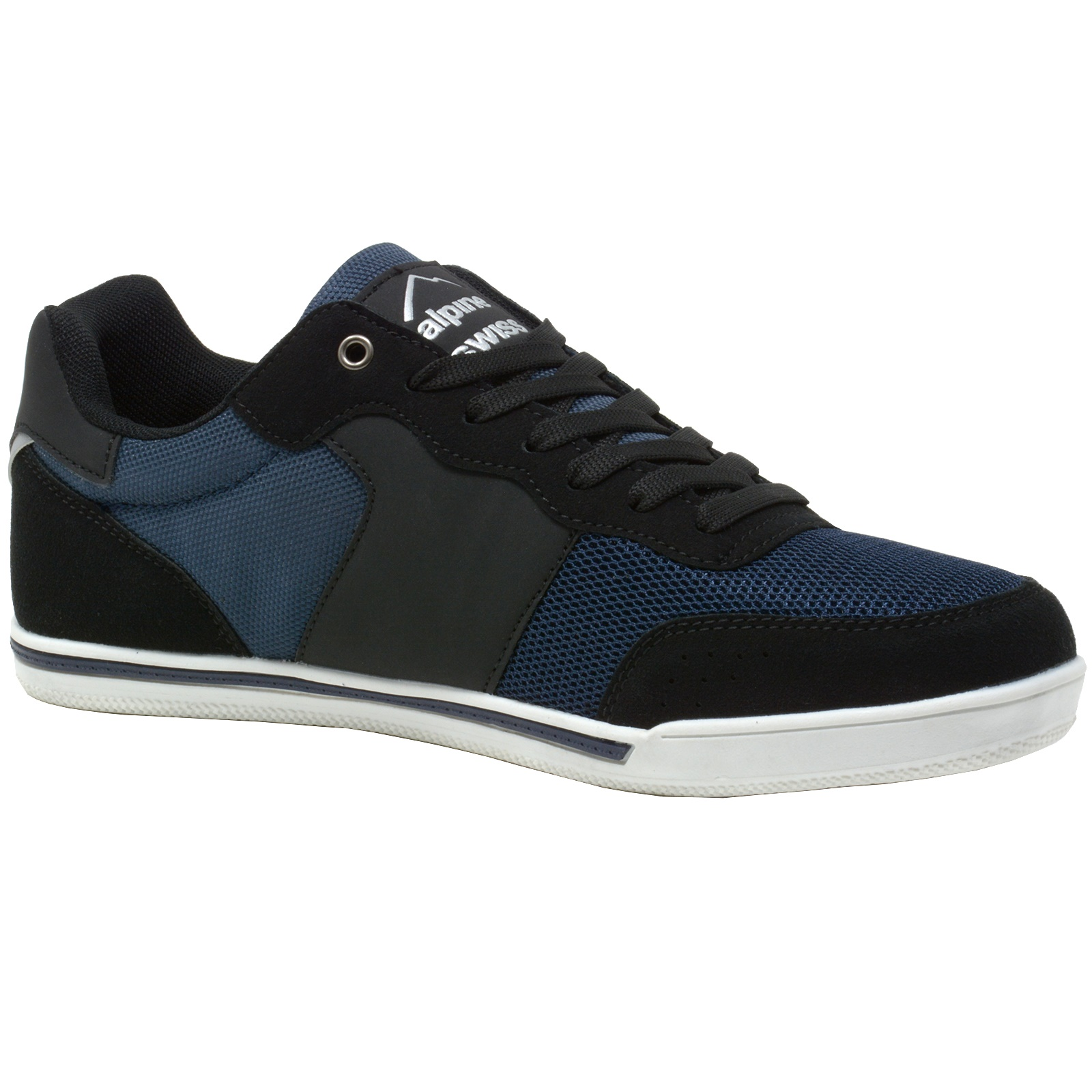 Alpine-Swiss-Liam-Mens-Fashion-Sneakers-Suede-Trim-Low-Top-Lace-Up-Tennis-Shoes thumbnail 38