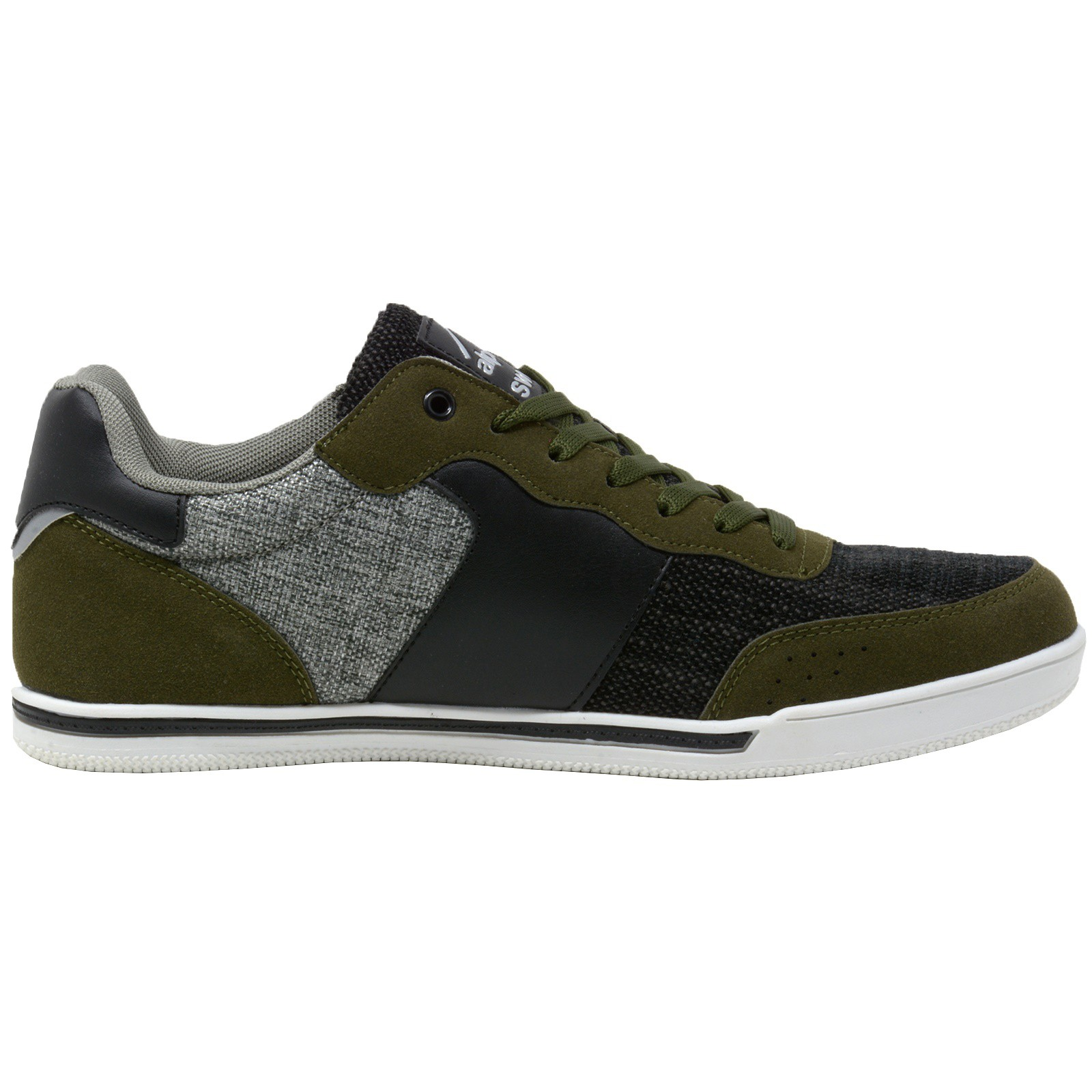 Alpine-Swiss-Liam-Mens-Fashion-Sneakers-Suede-Trim-Low-Top-Lace-Up-Tennis-Shoes thumbnail 43