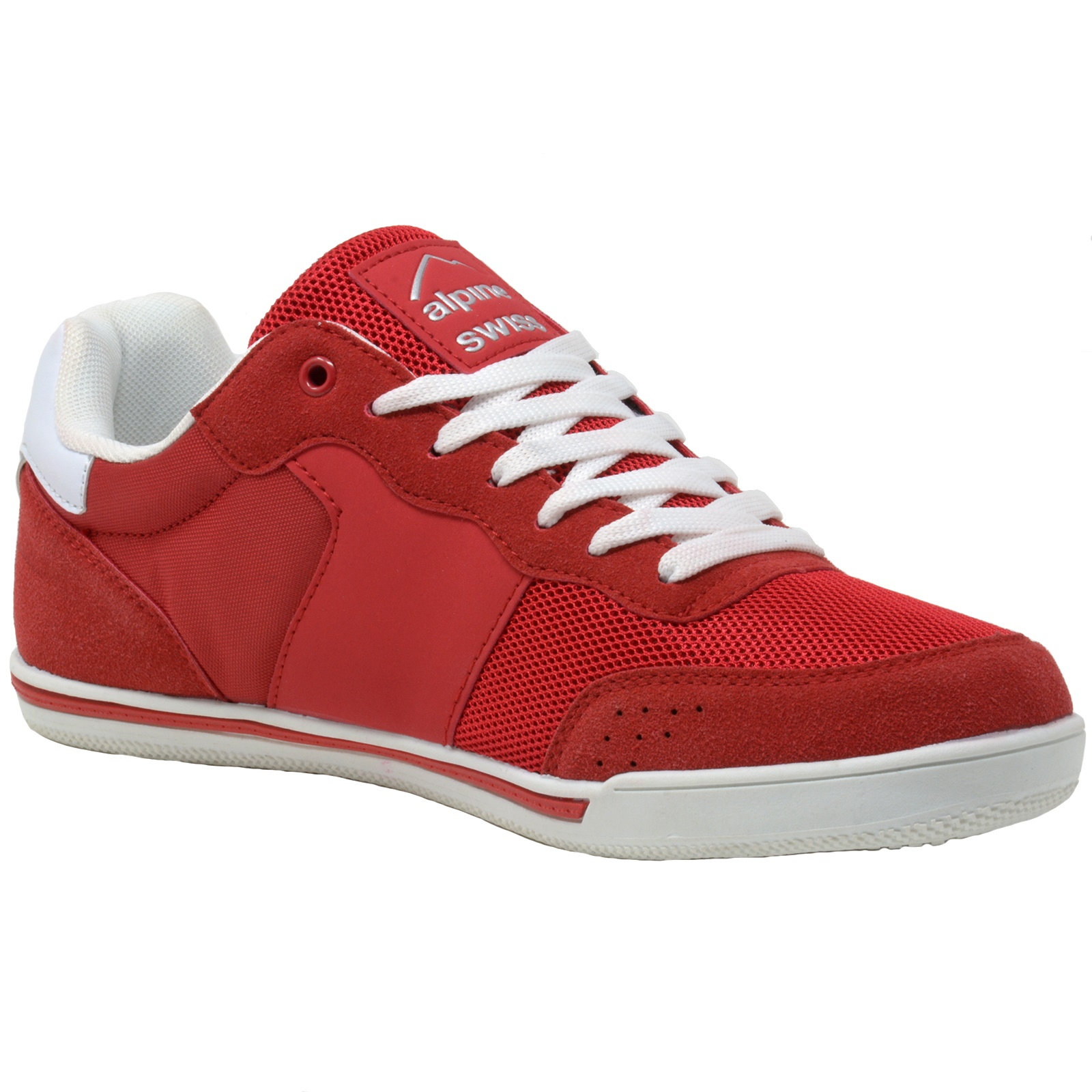 Alpine-Swiss-Liam-Mens-Fashion-Sneakers-Suede-Trim-Low-Top-Lace-Up-Tennis-Shoes thumbnail 56