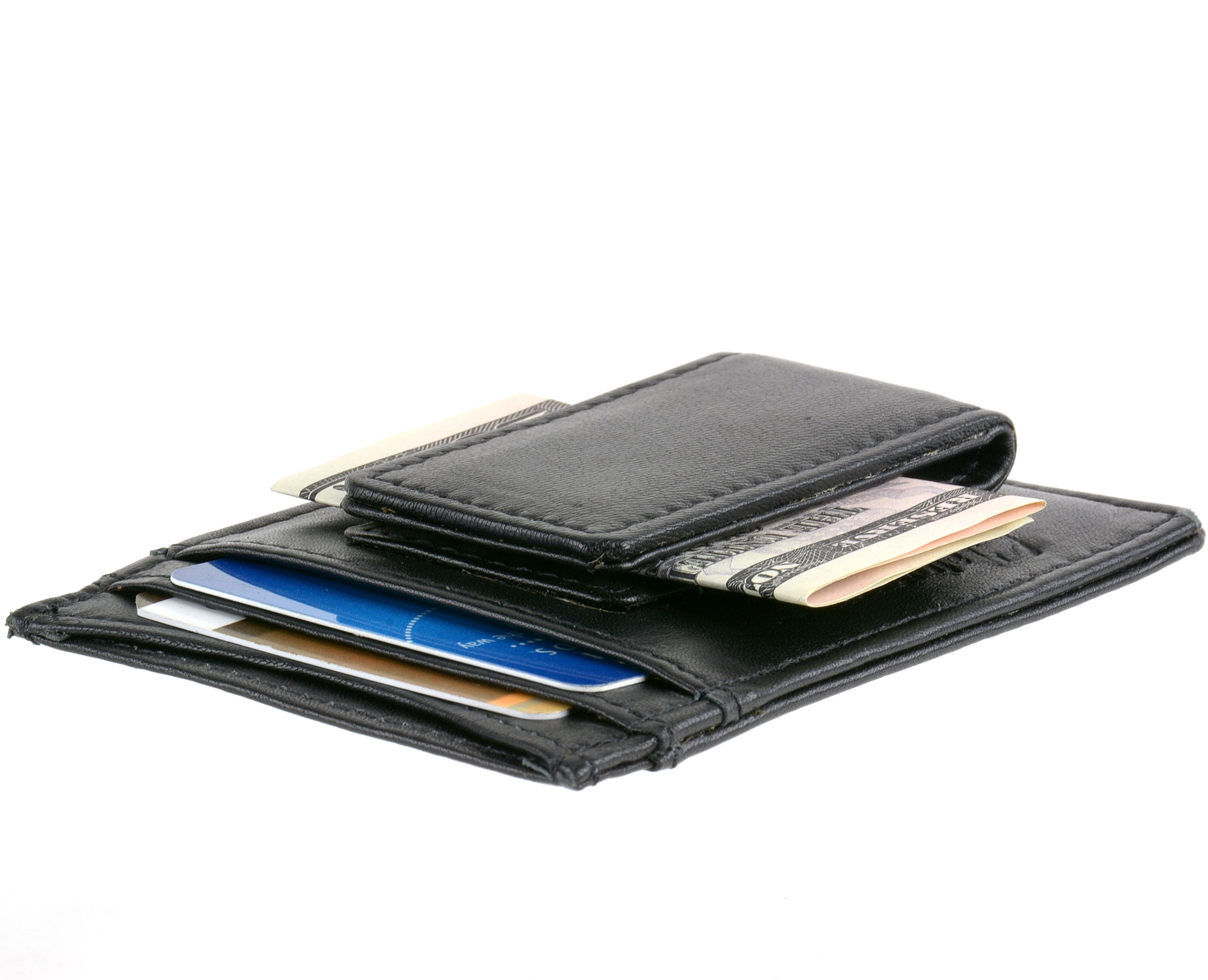 Your Choice Alpine Swiss Mens Leather Wallets Money Clips