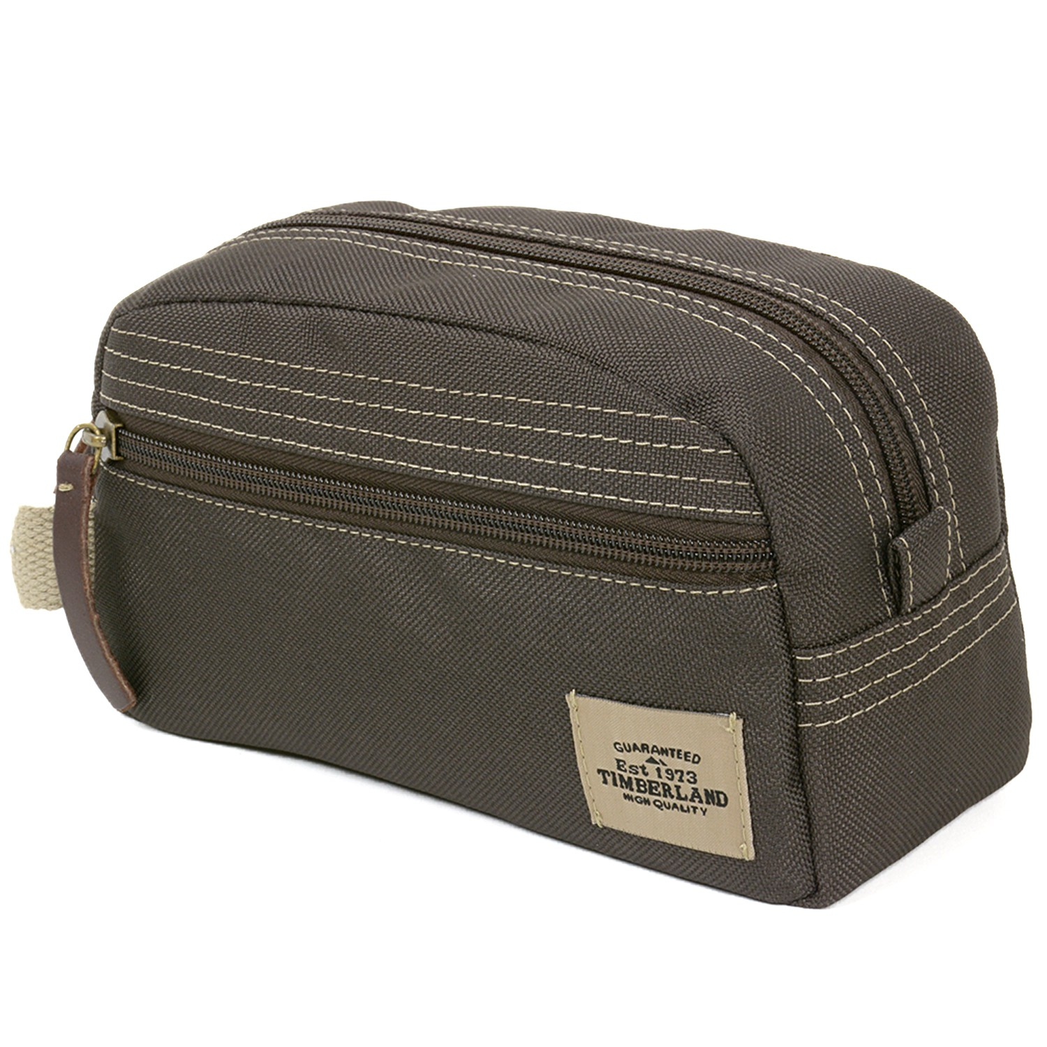 24753a61540c Timberland Travel Kit Toiletry Bag Overnight Handle Case Canvas ...