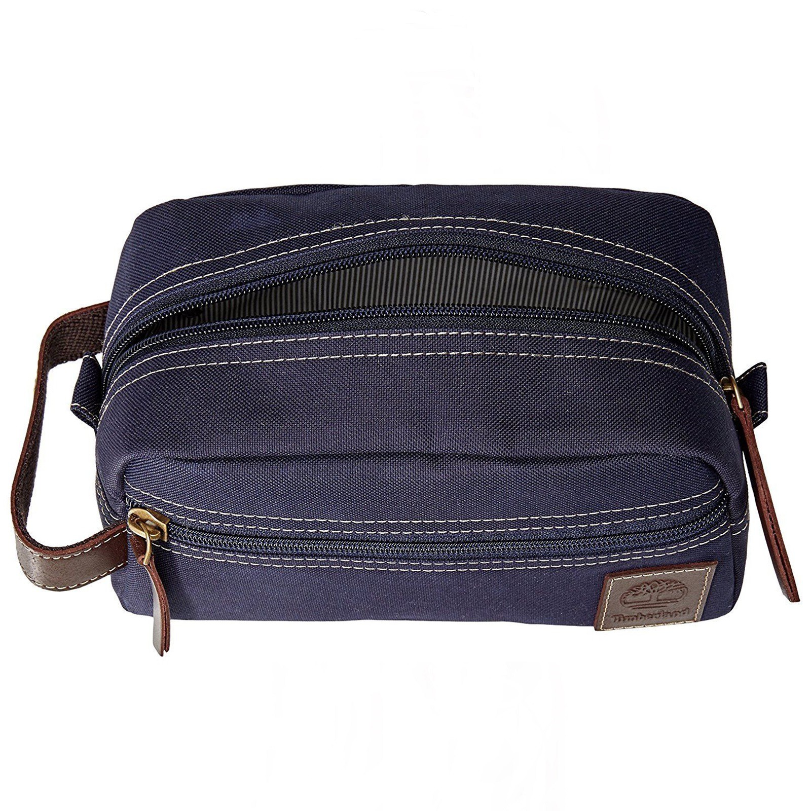 Timberland Men s Canvas Shave Kit Organizer Toiletry Bag Overnight ... 34609c9199