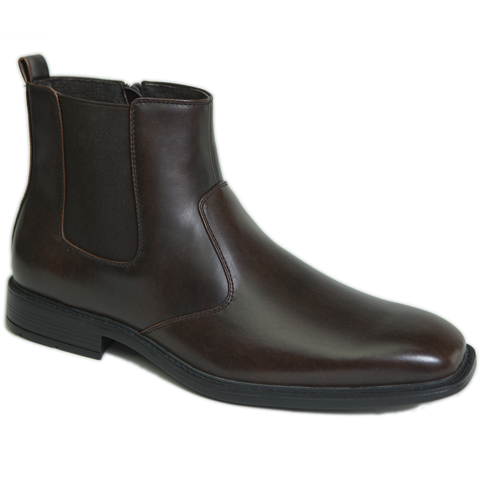 alpine swiss nyon men 39 s chelsea boots dress ankle slip on shoes zipper pull up ebay. Black Bedroom Furniture Sets. Home Design Ideas